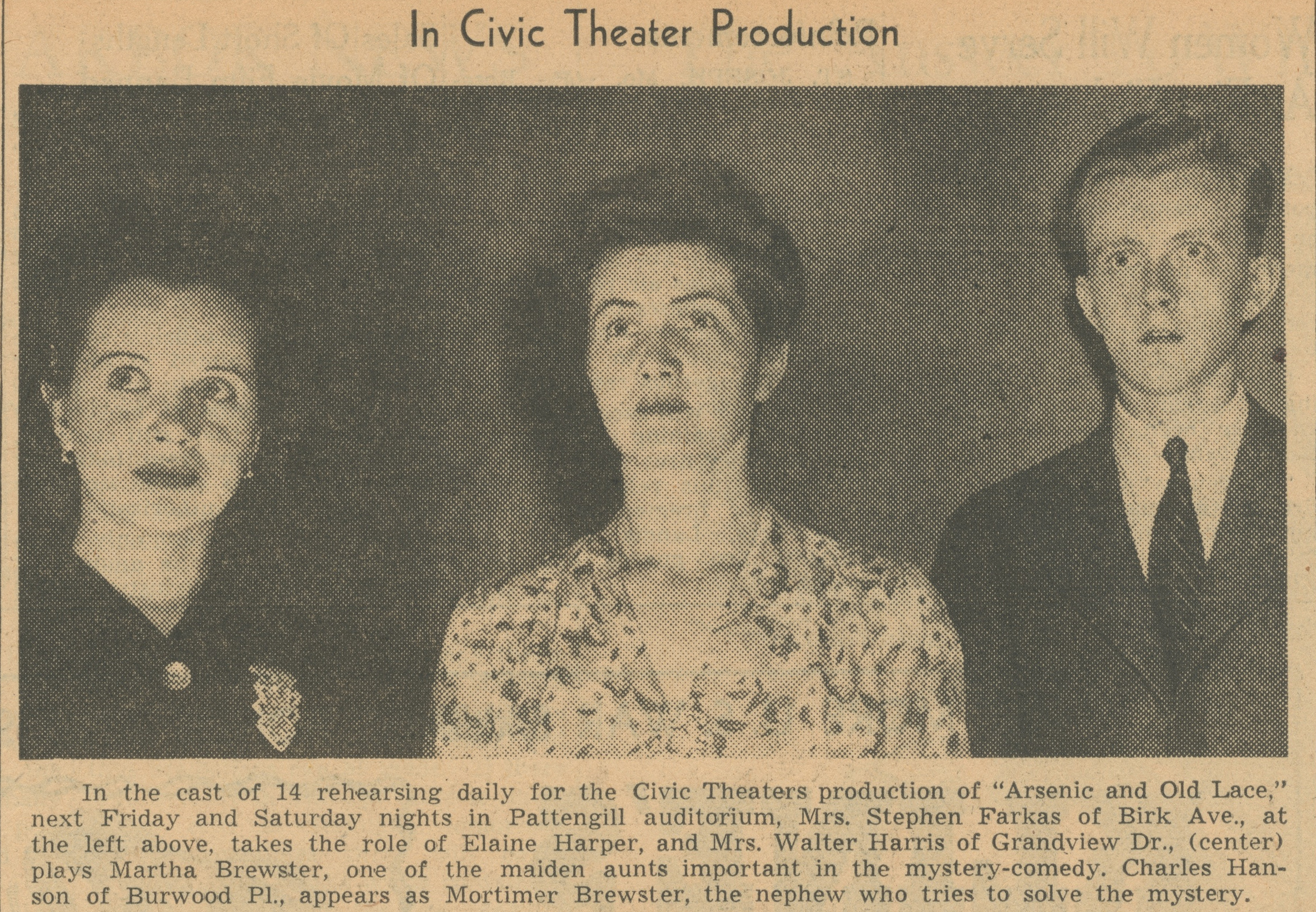 In Civic Theater Production image