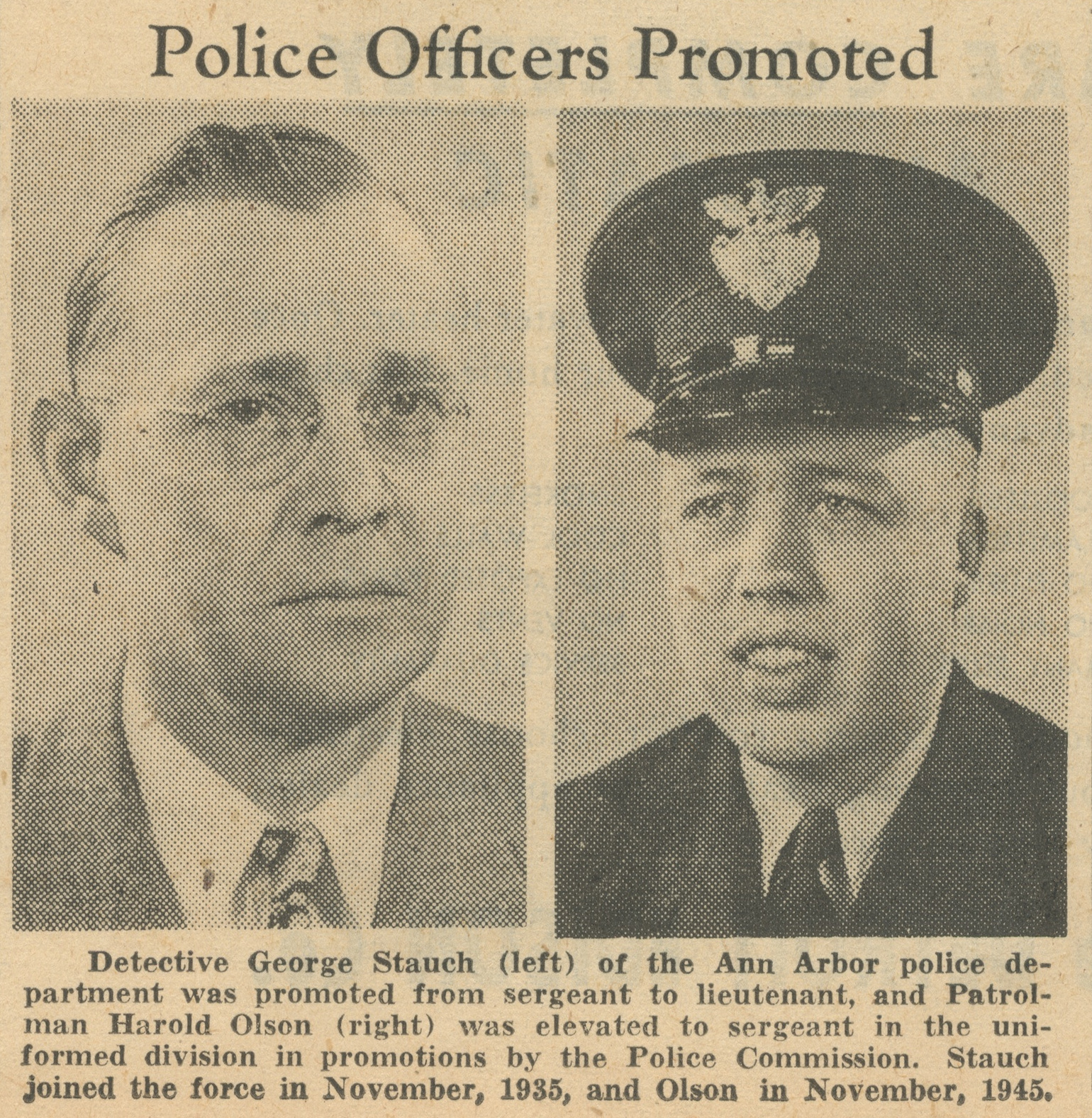 Police Officers Promoted image