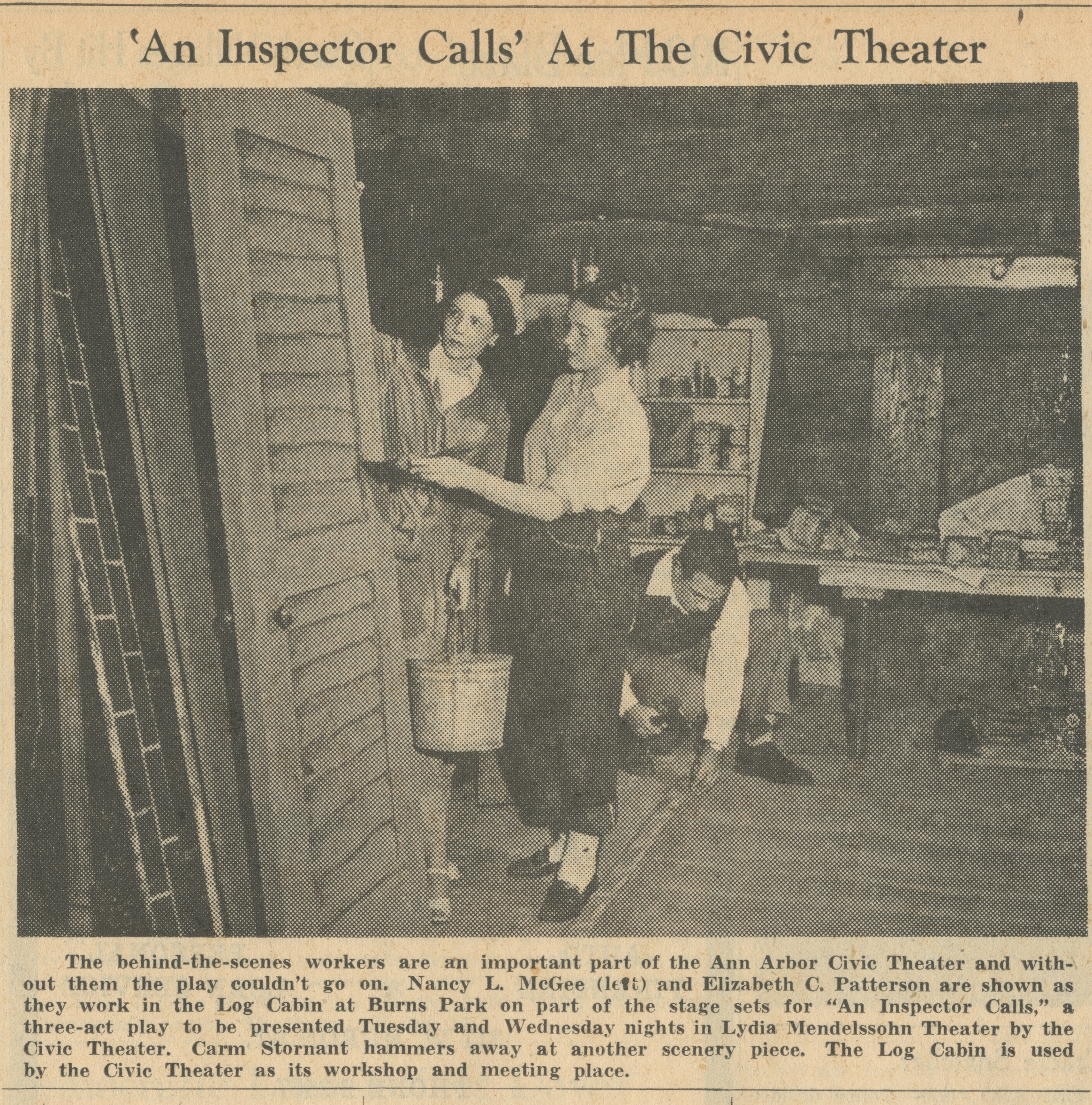 'An Inspector Calls' At The Civic Theater image