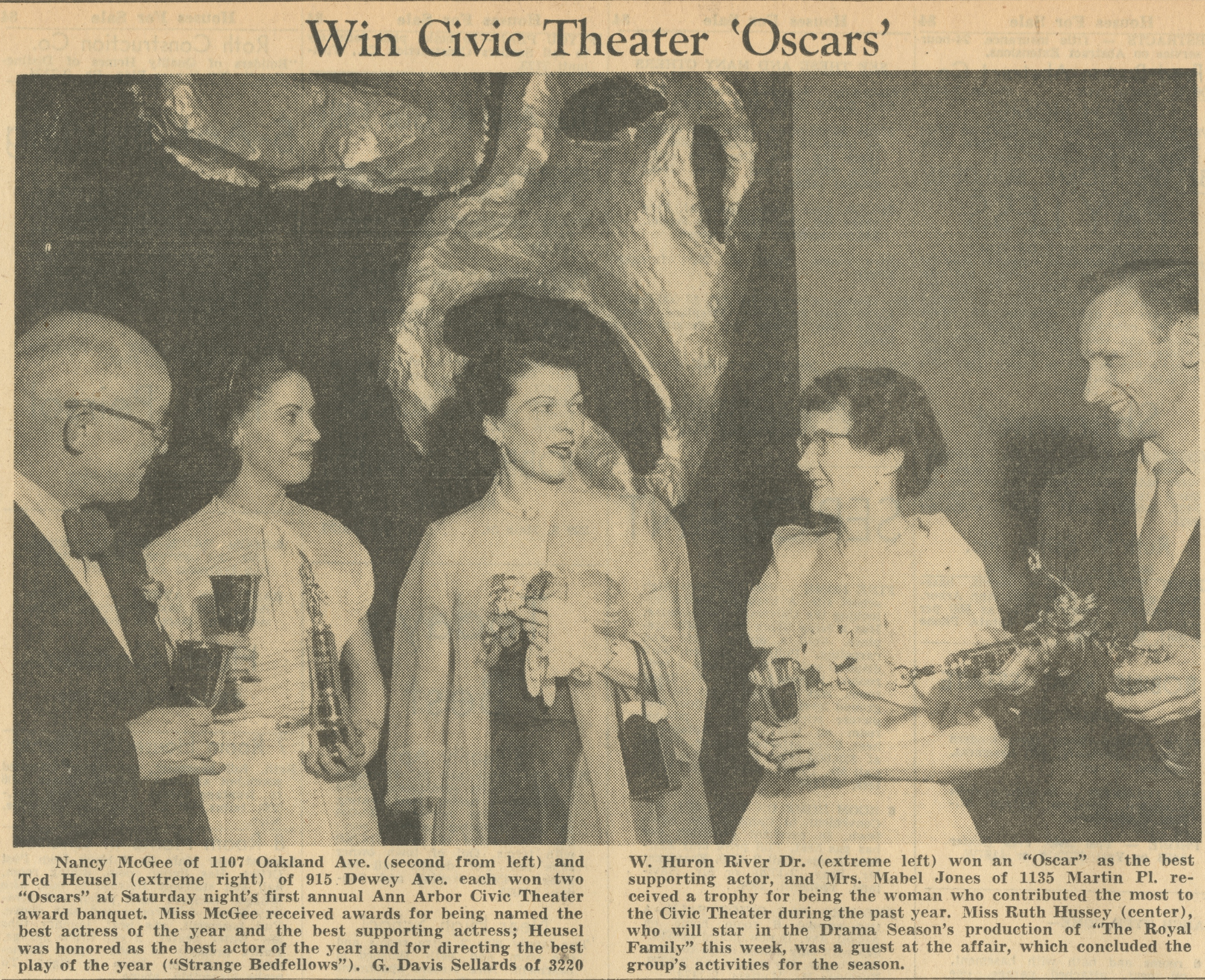 Win Civic Theater 'Oscars' image