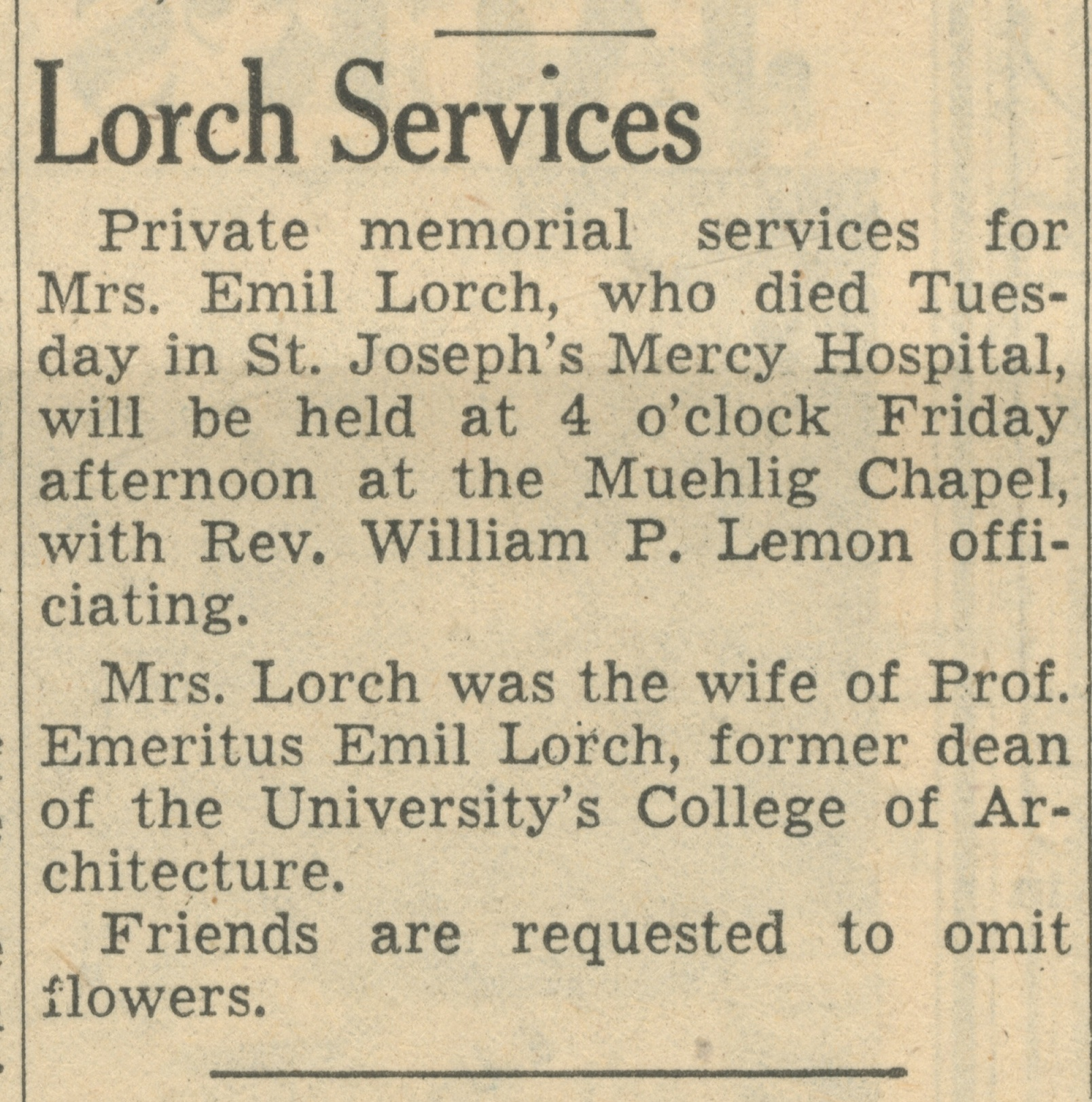 Lorch Services image