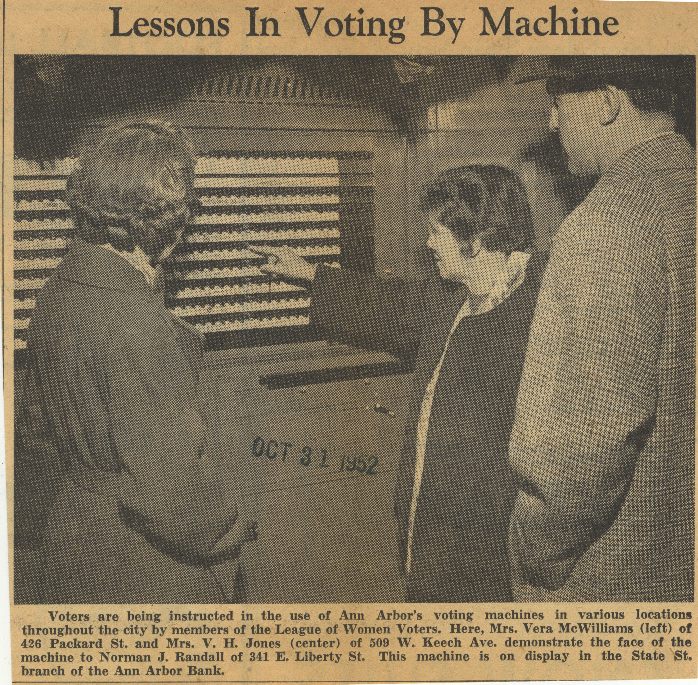 Lessons In Voting By Machine image
