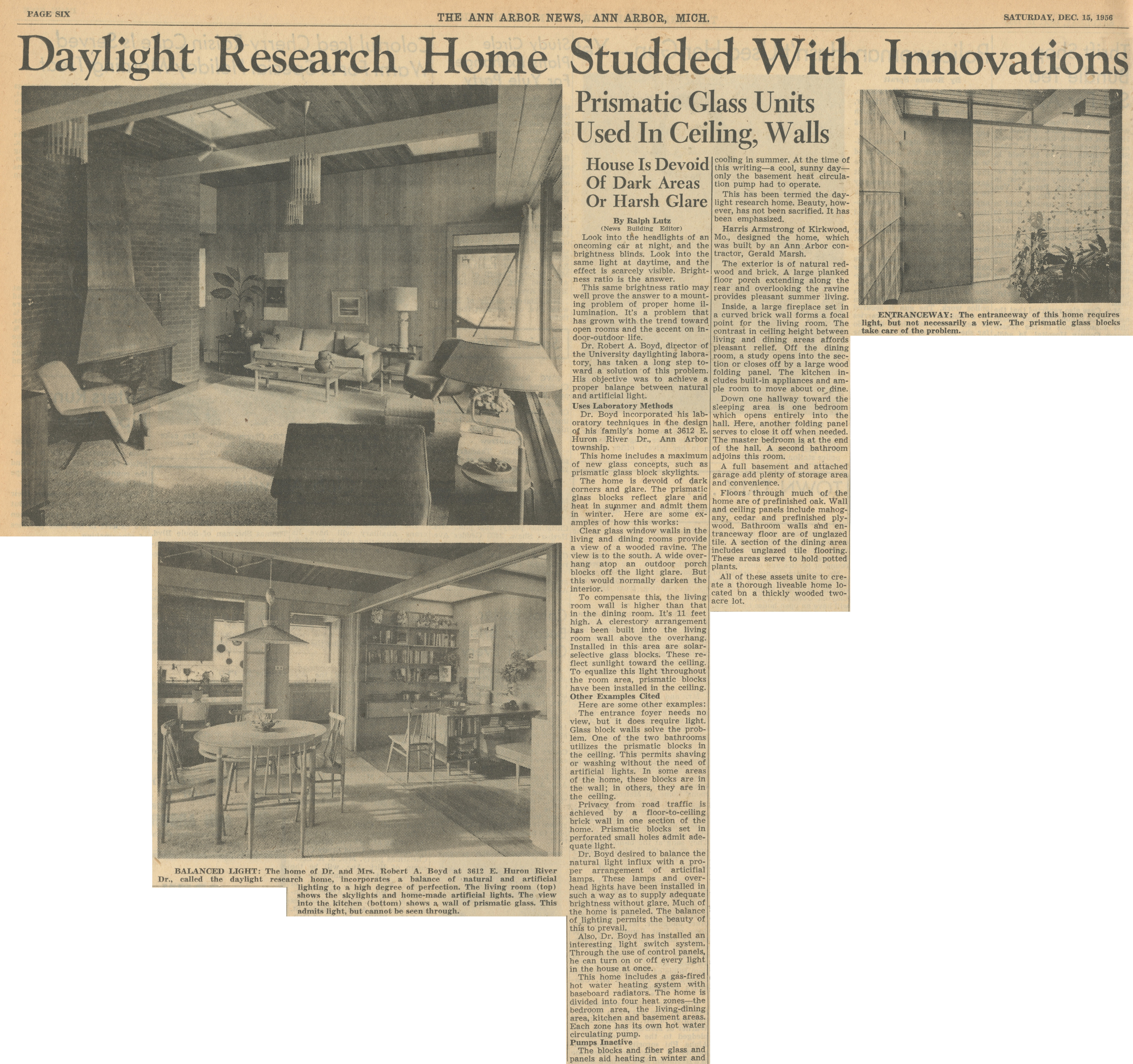 Daylight Research Home Studded With Innovations image