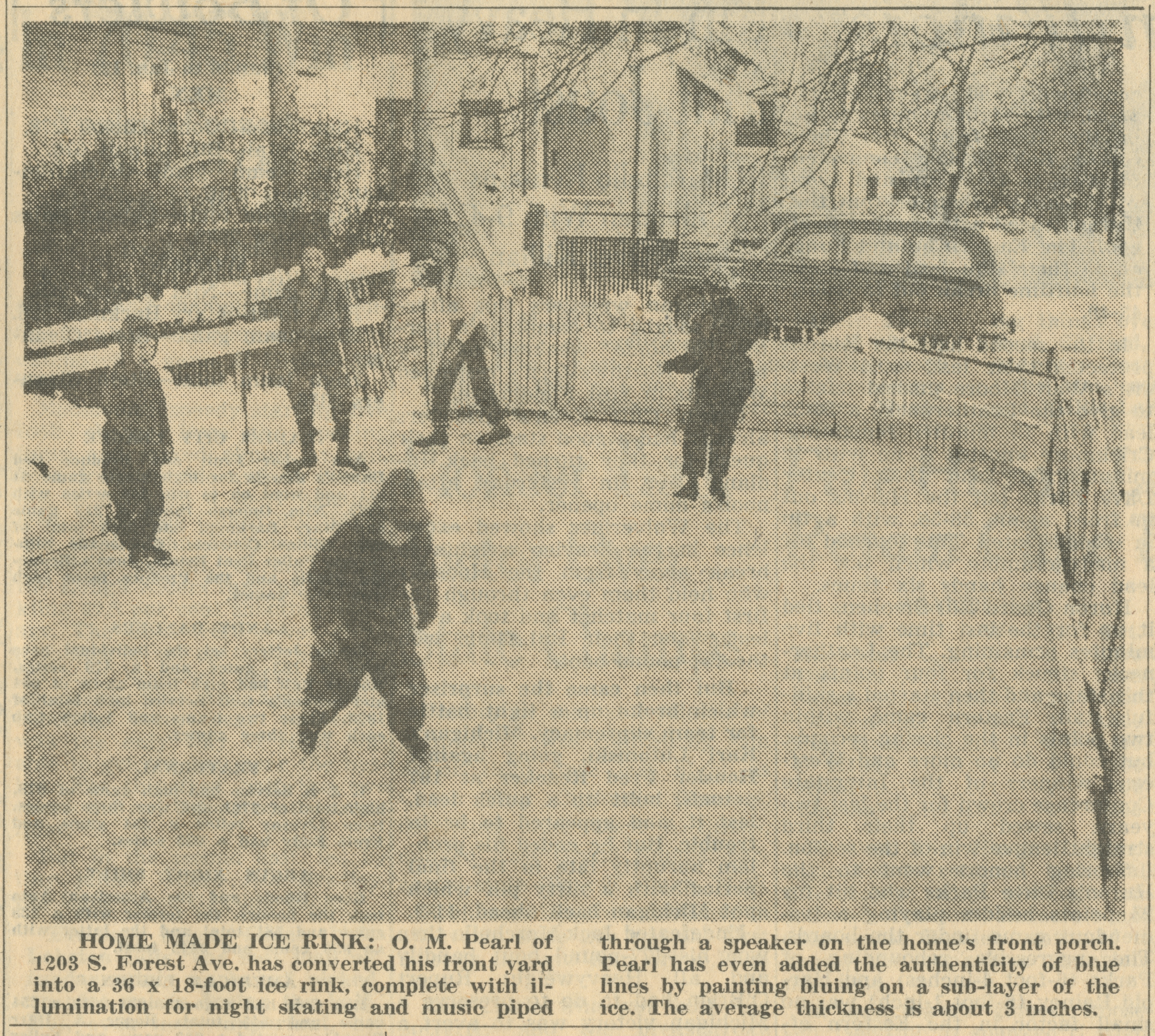 Home Made Ice Rink image