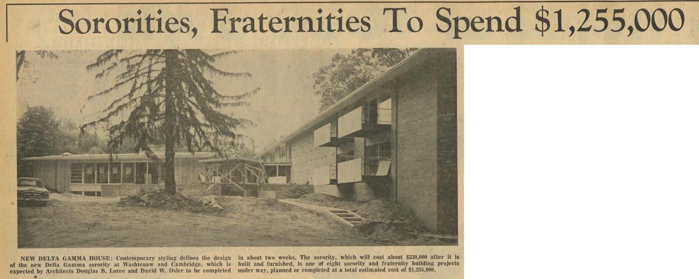 Sororities, Fraternities To Spend $1,255,000 image