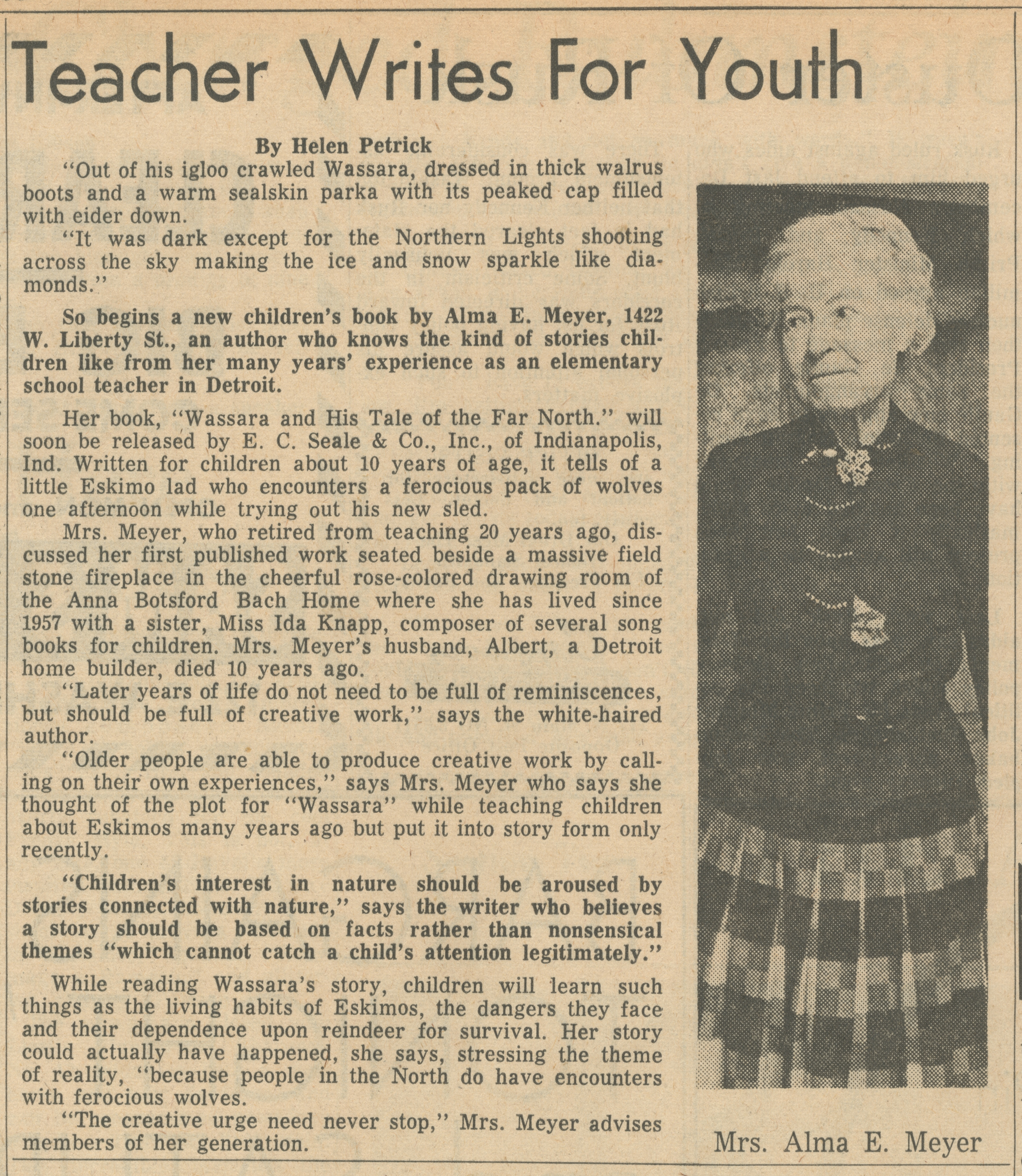Teacher Writes For Youth image