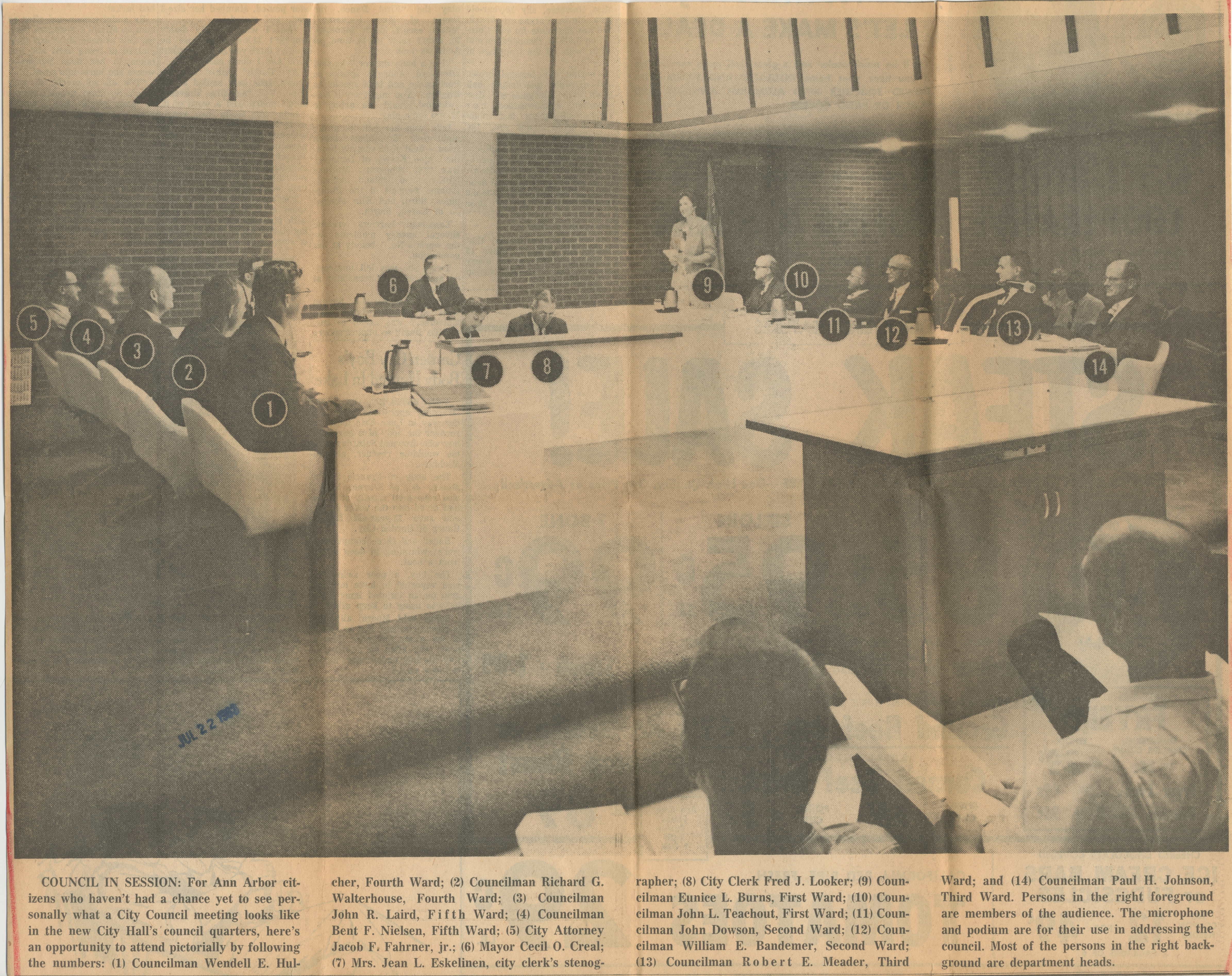Council In Session image