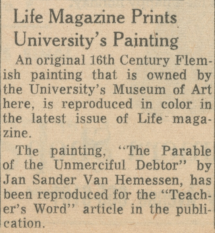 Life Magazine Prints University's Painting image