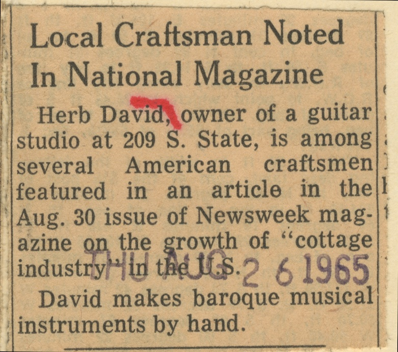 Local Craftsman Noted In National Magazine image