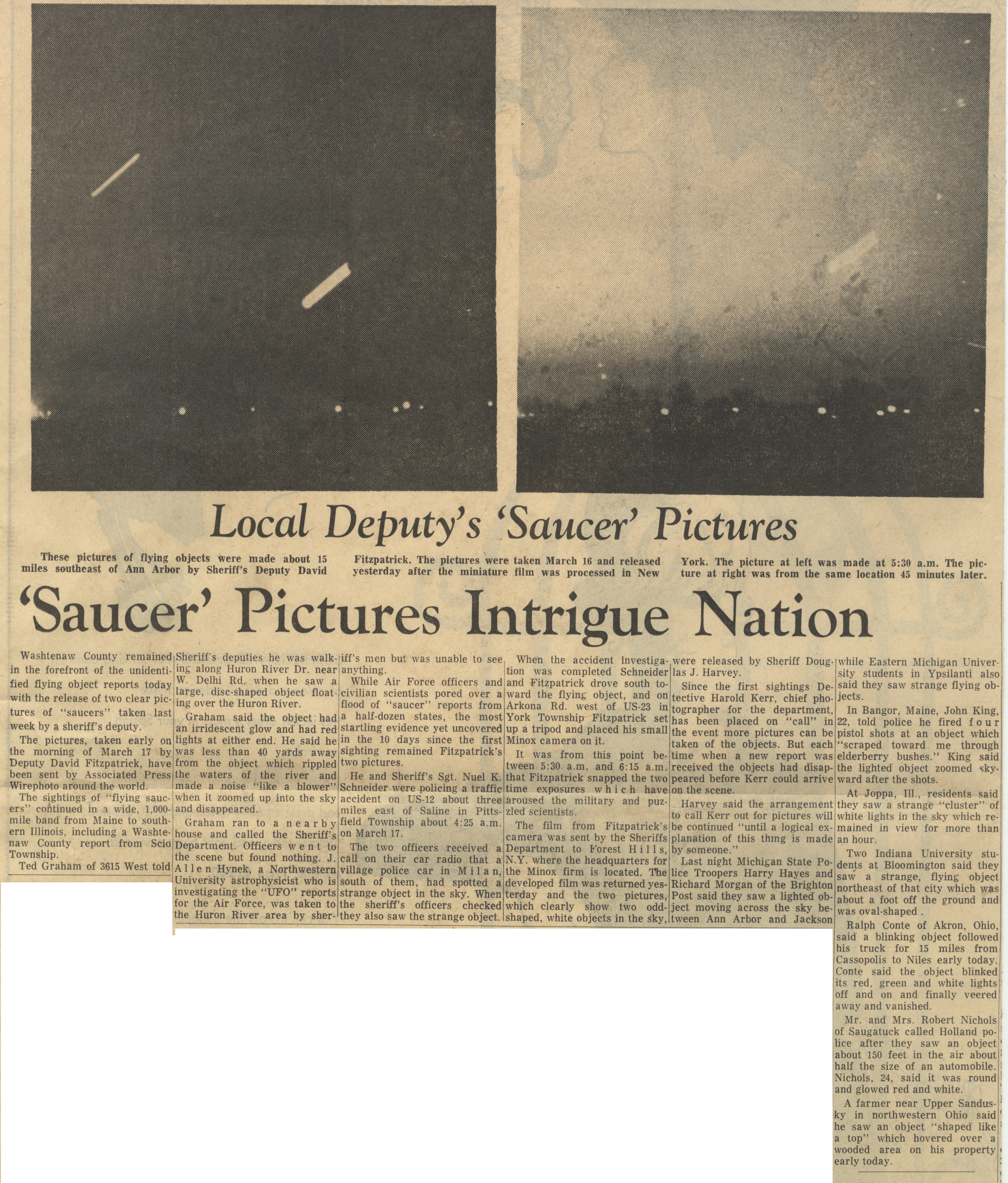 """Saucer"" Pictures Intrigue Nation image"