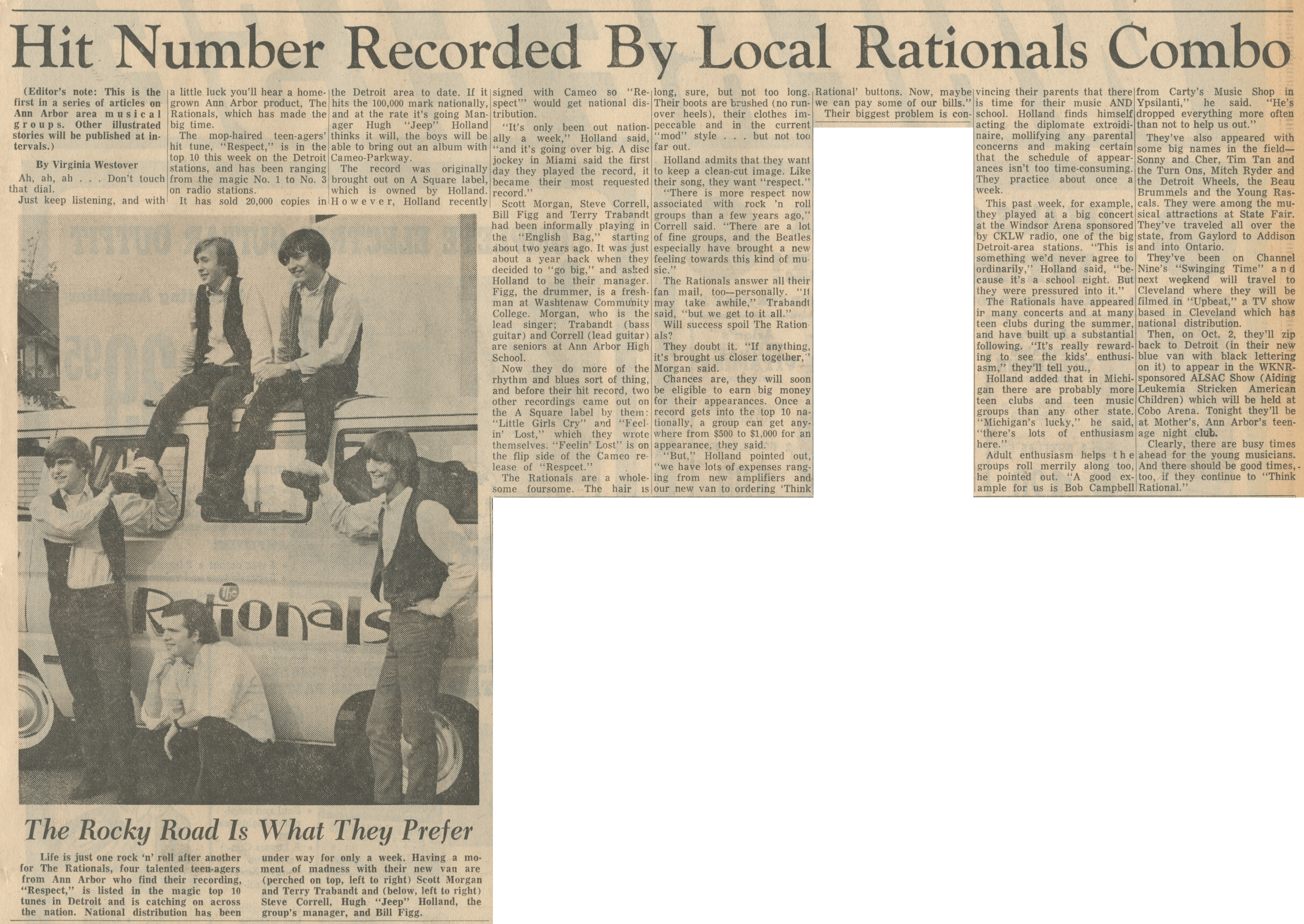 Hit Number Recorded By Local Rationals Combo image