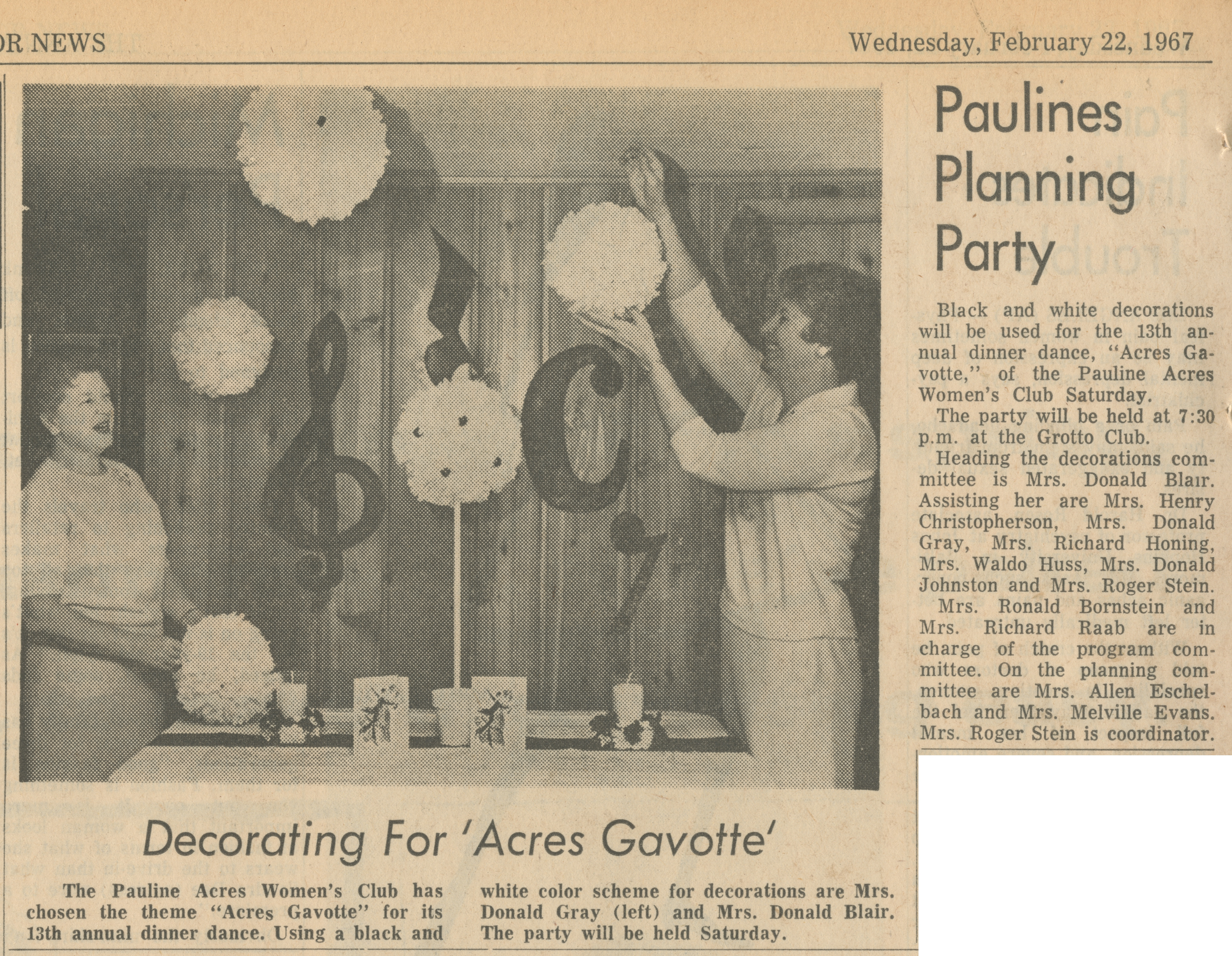 Paulines Planning Party image