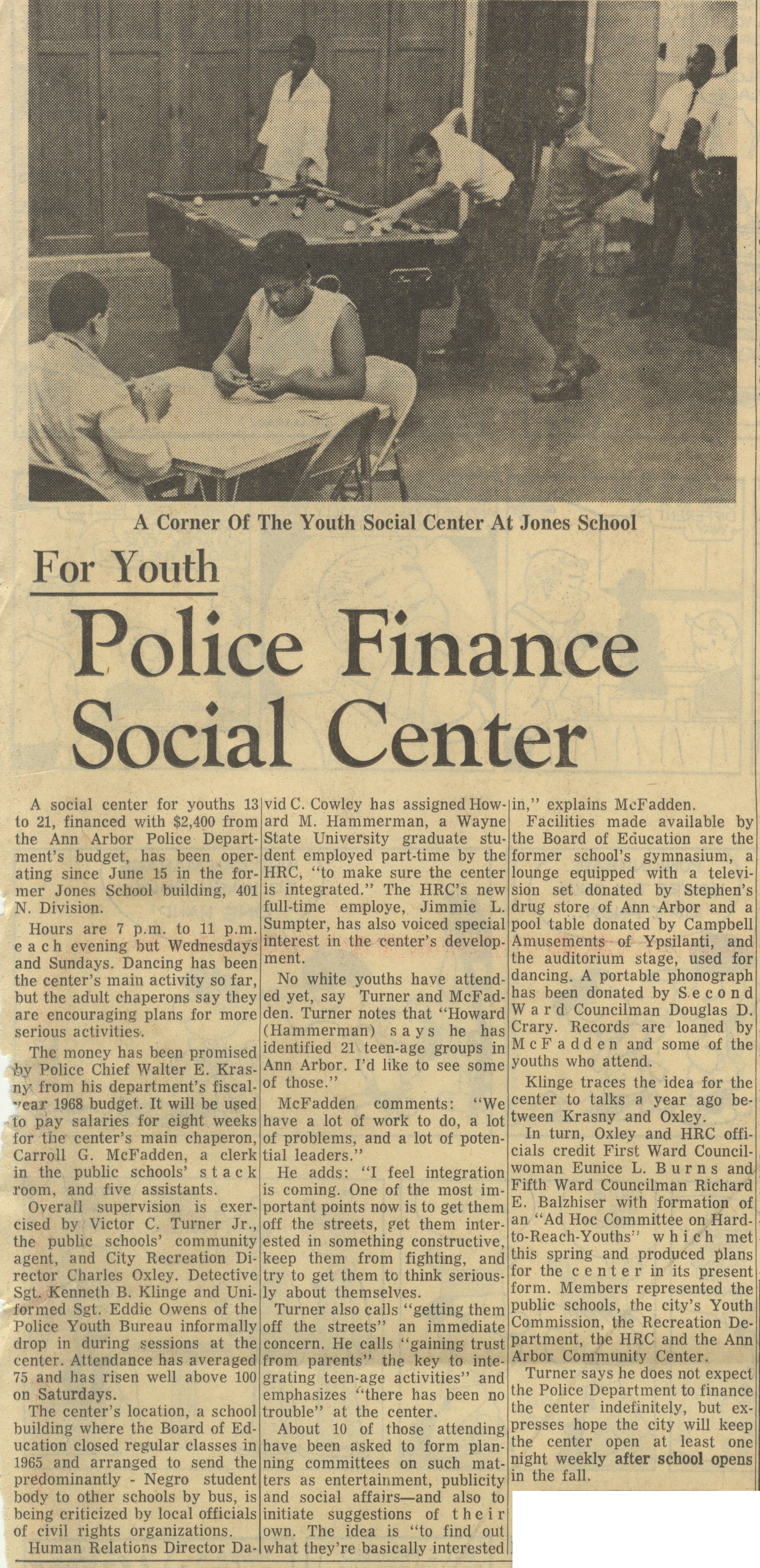 Police Finance Social Center image