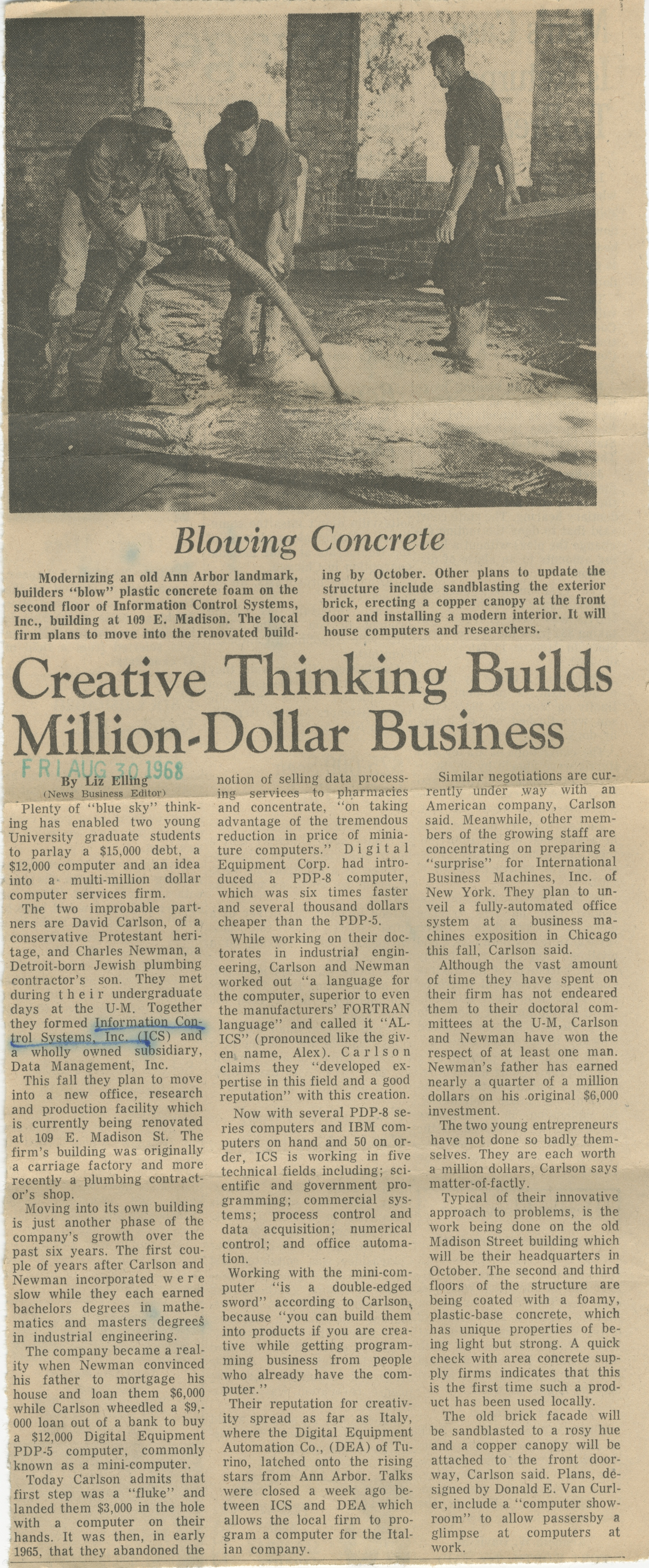 Creative Thinking Builds Million-Dollar Business image