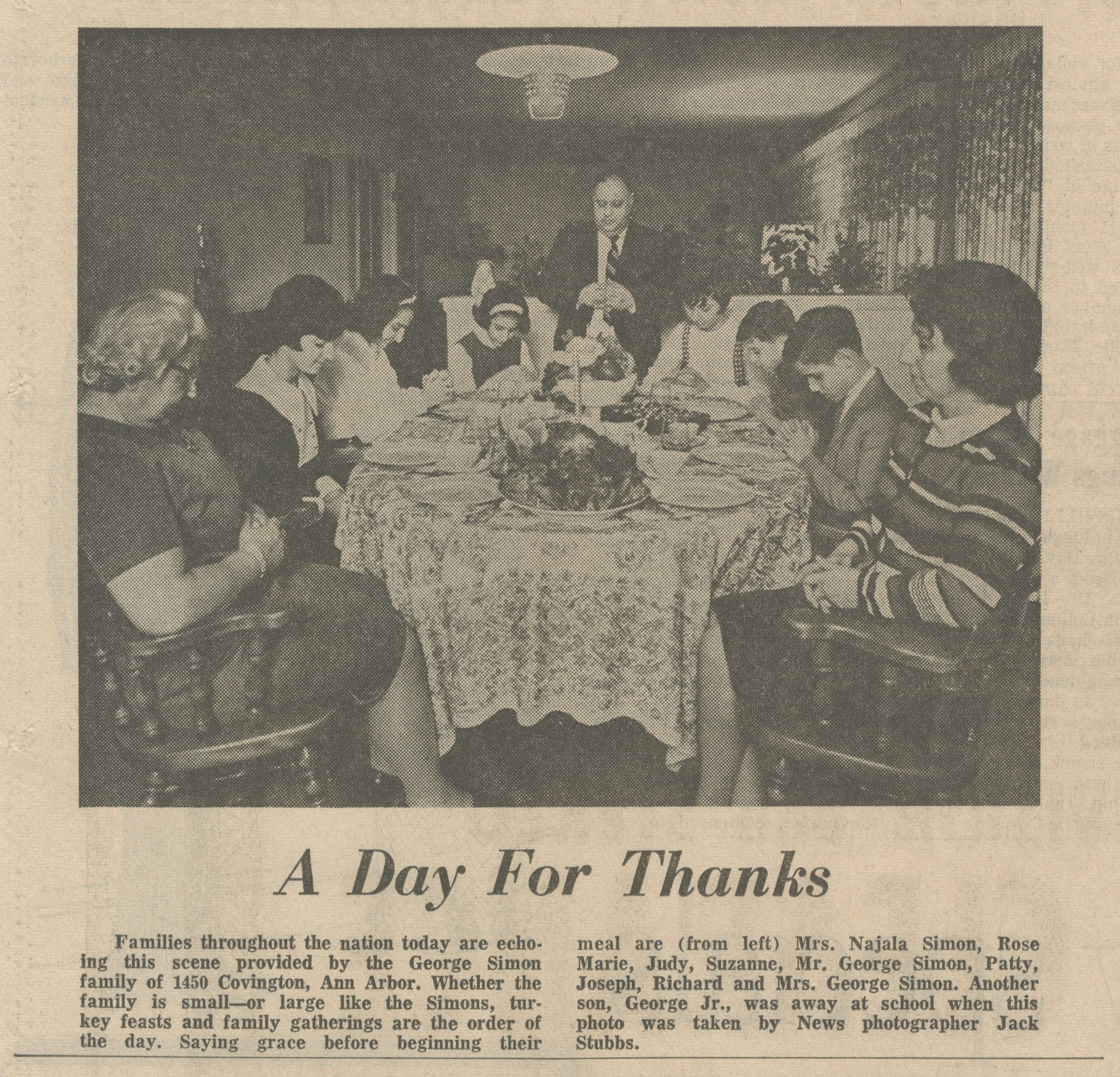A Day For Thanks image
