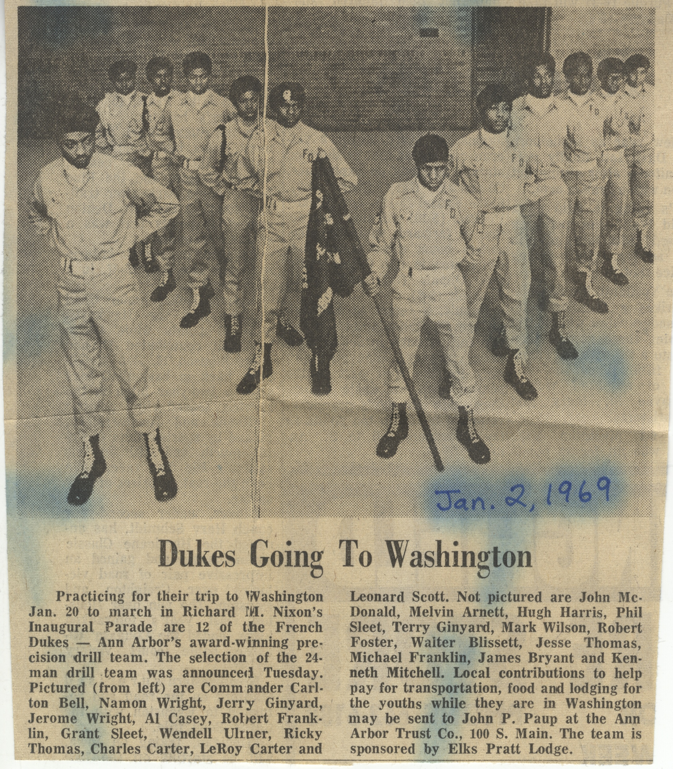 Dukes Going To Washington image