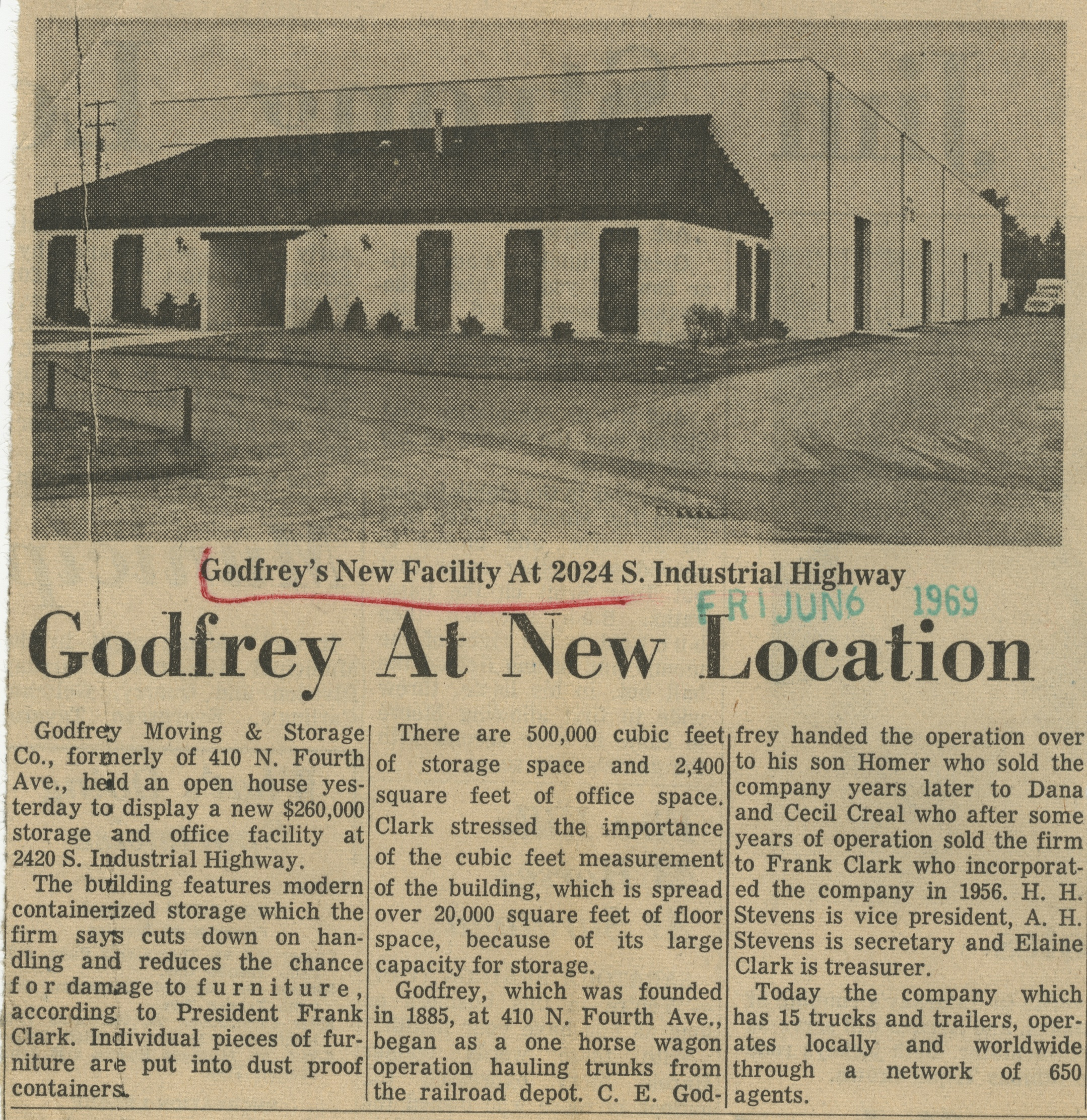 Godfrey At New Location image