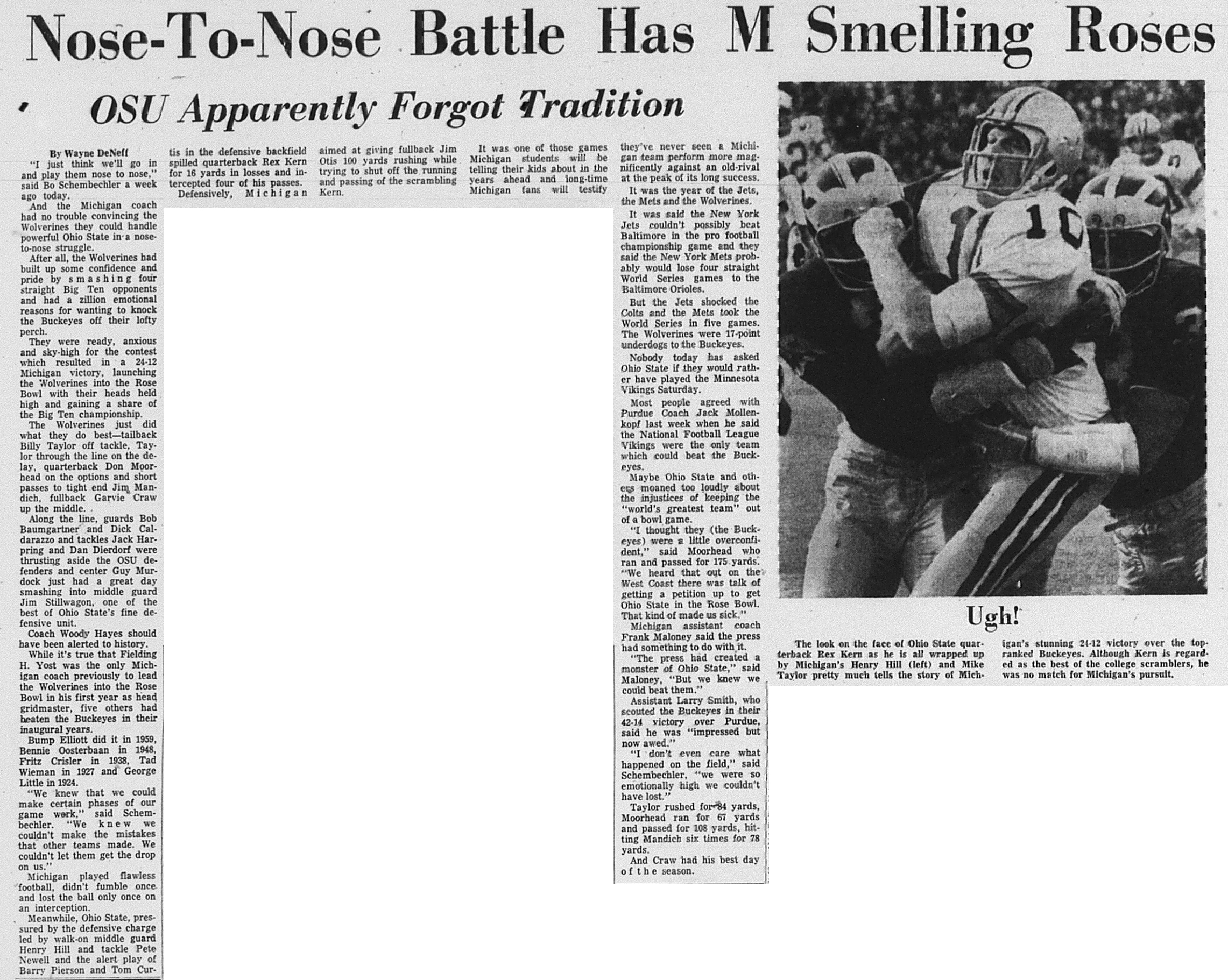 Nose-To-Nose Battle Has M Smelling Roses image
