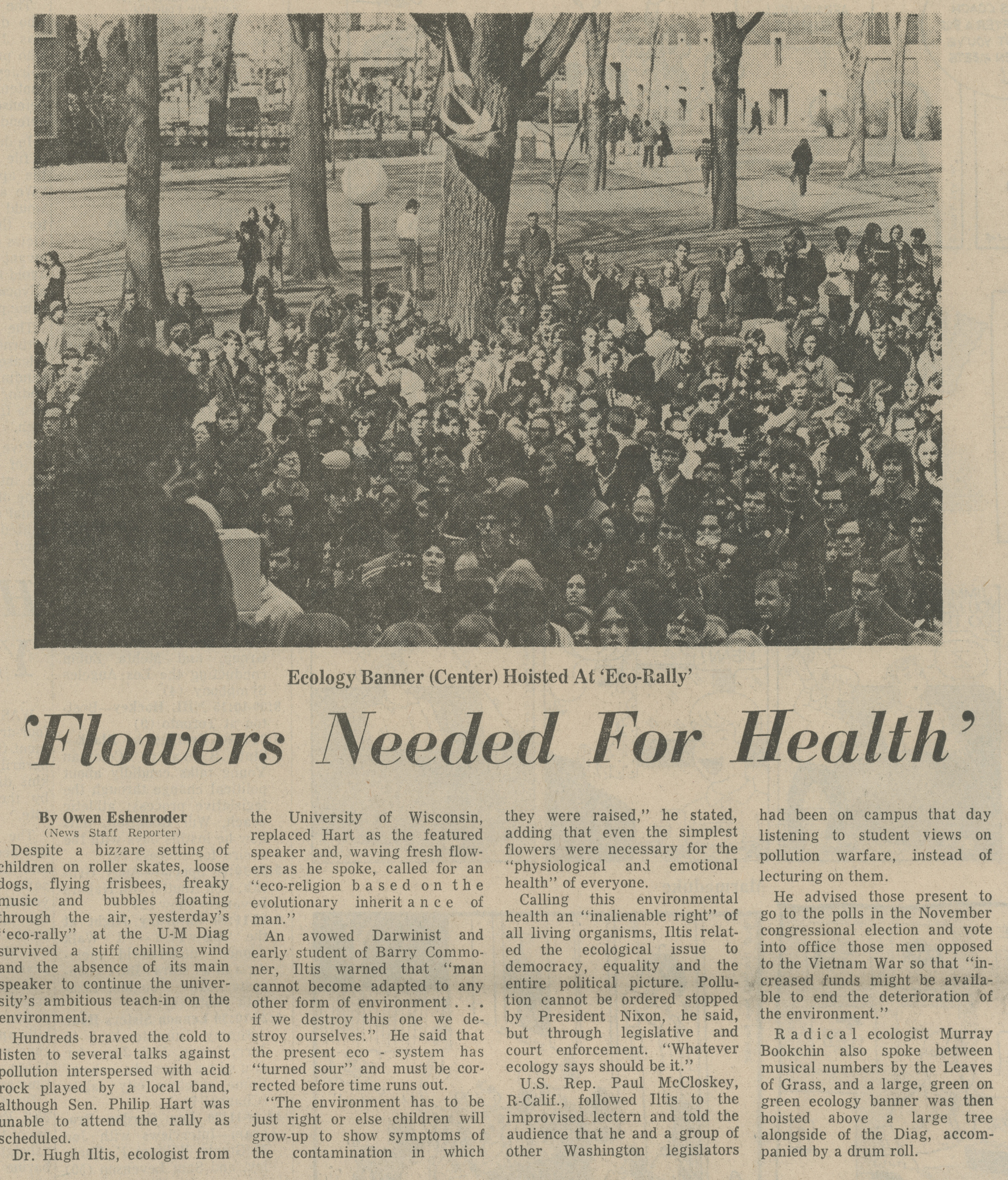 'Flowers Needed For Health' image
