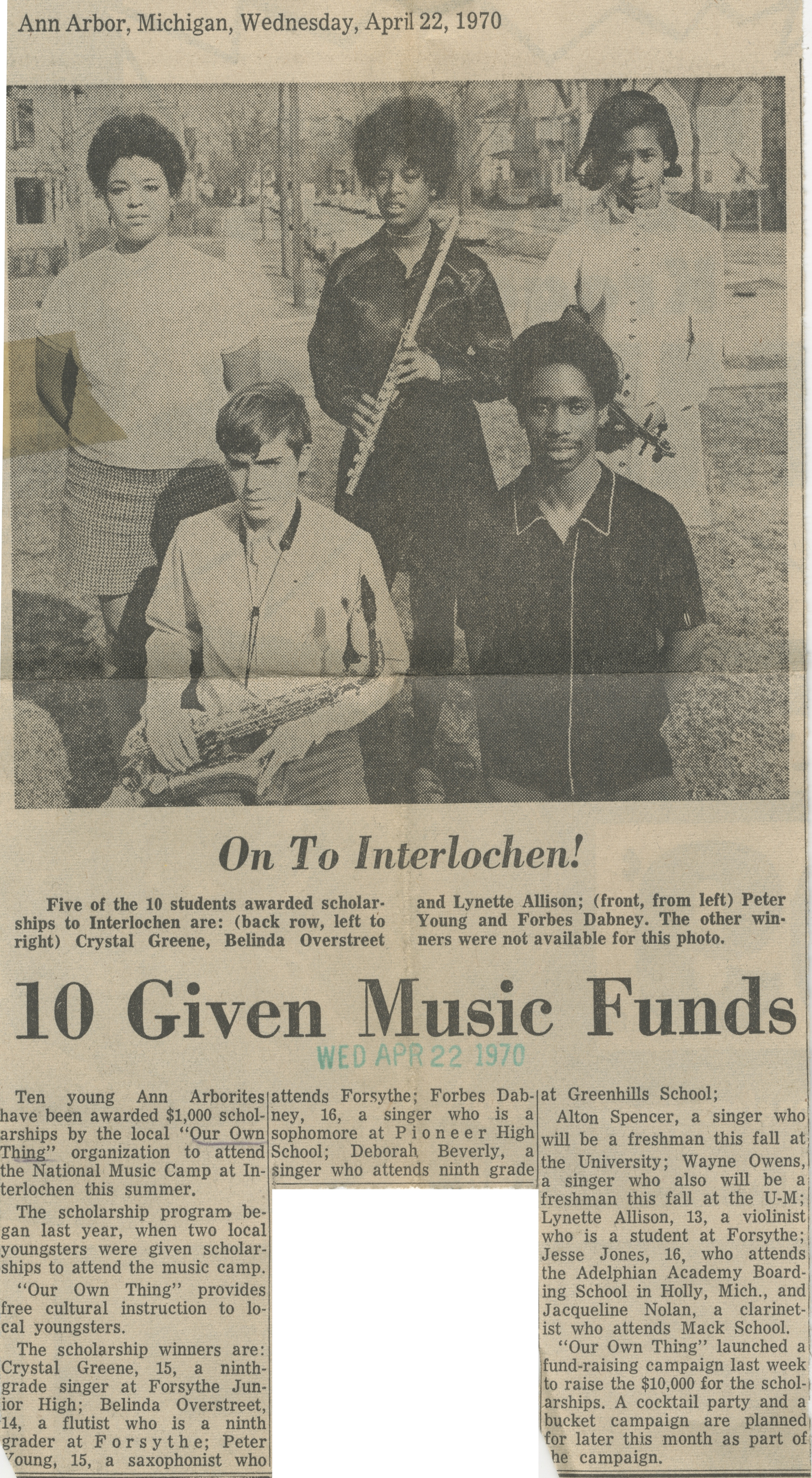 10 Given Music Funds image