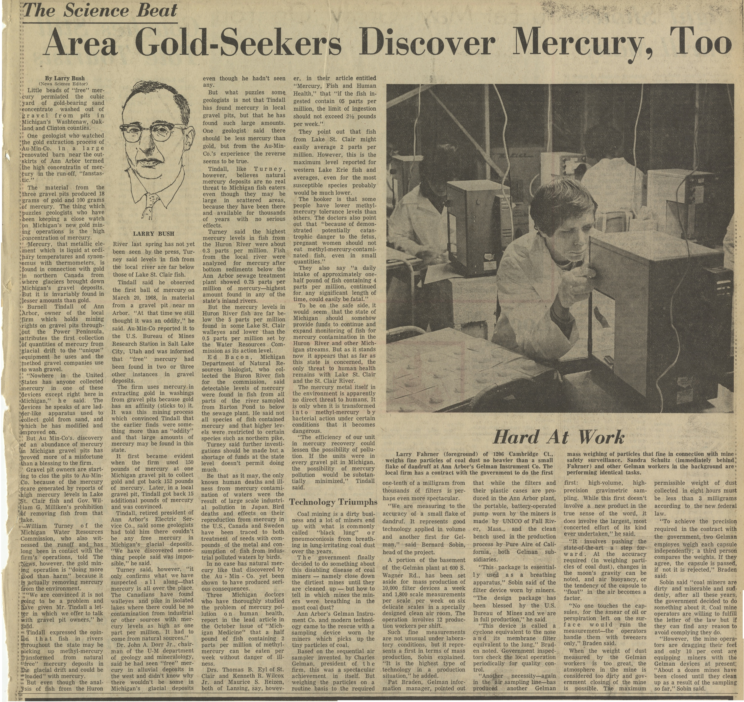 Area Gold Seekers Discover Mercury Too image