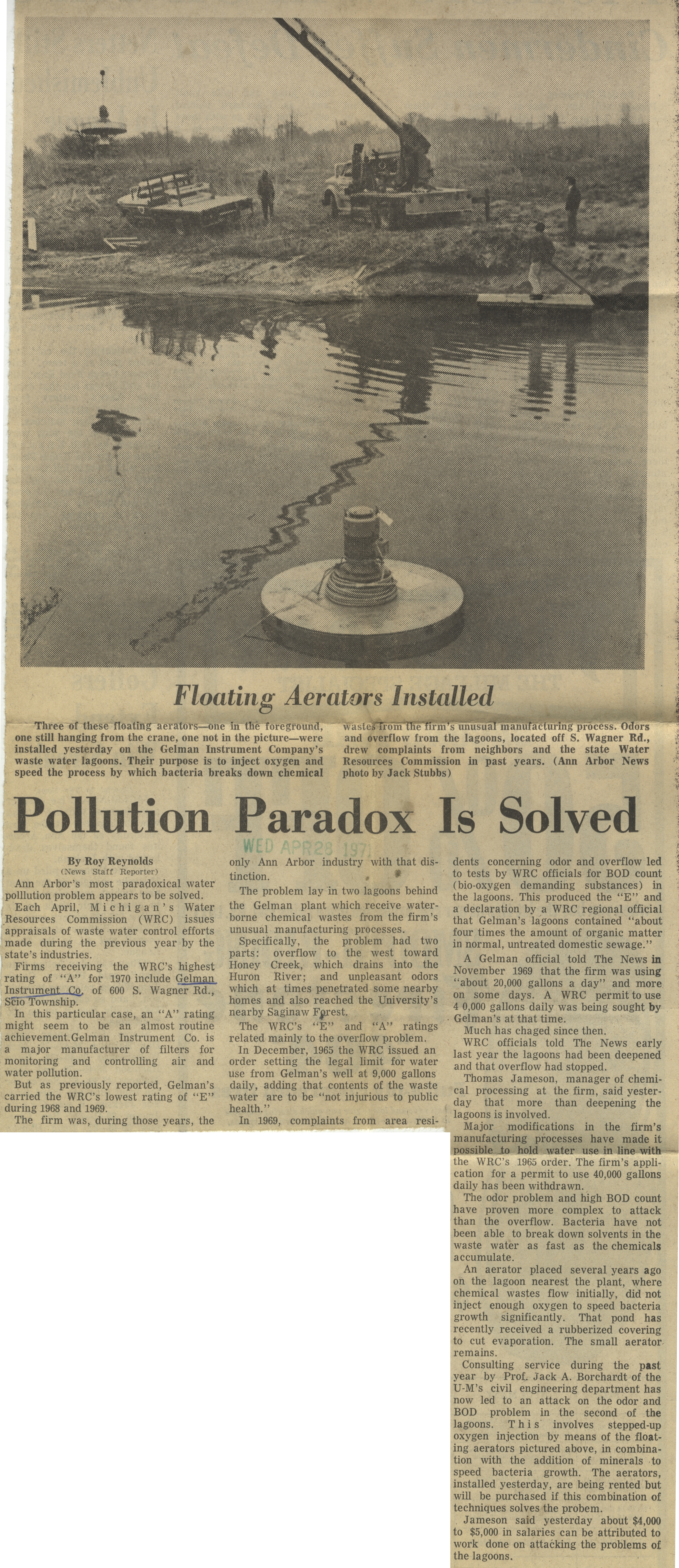 Pollution Paradox Is Solved image