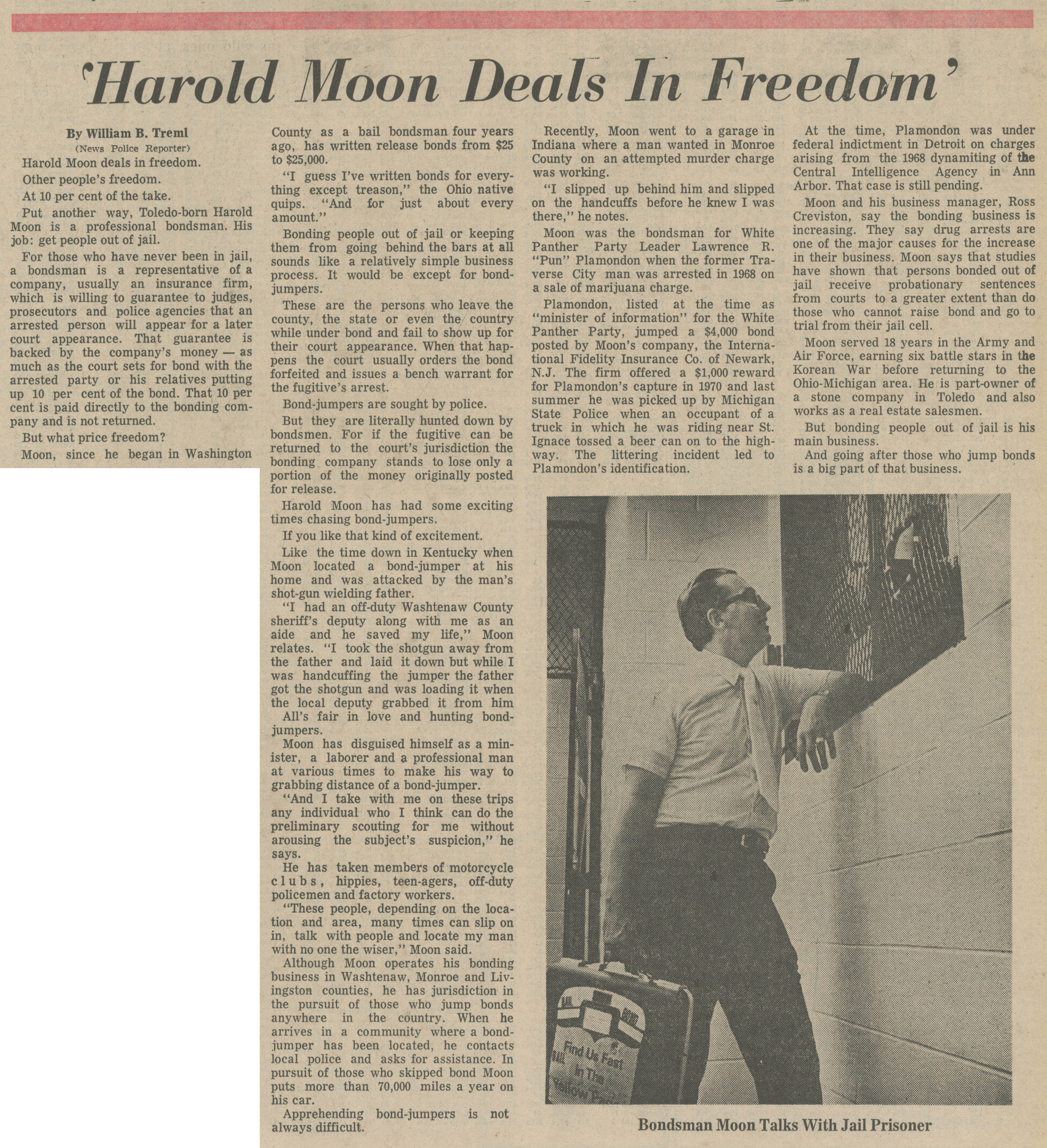 'Harold Moon Deals in Freedom' image