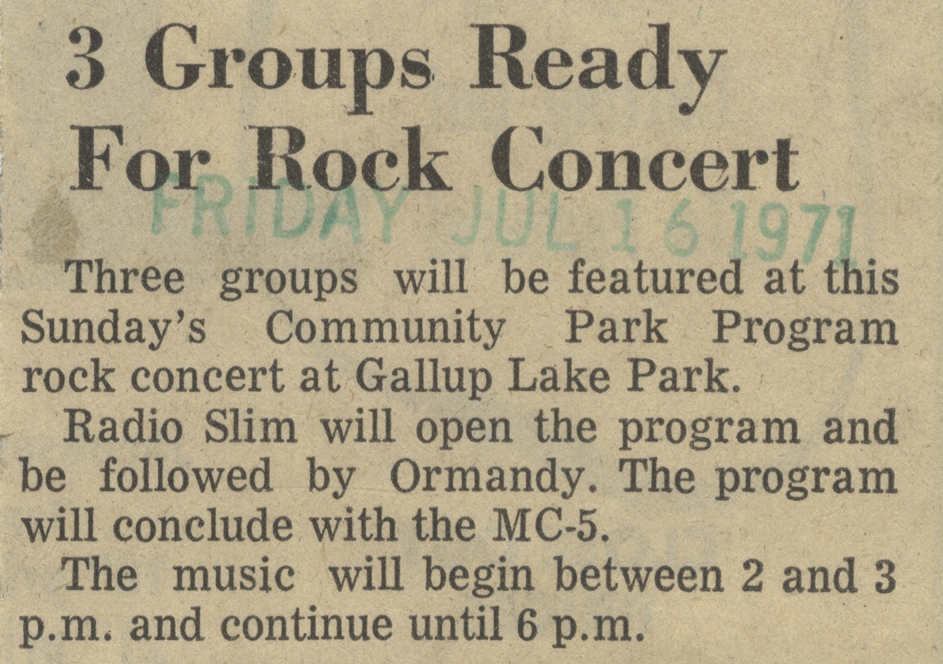 3 Groups Ready For Rock Concert image
