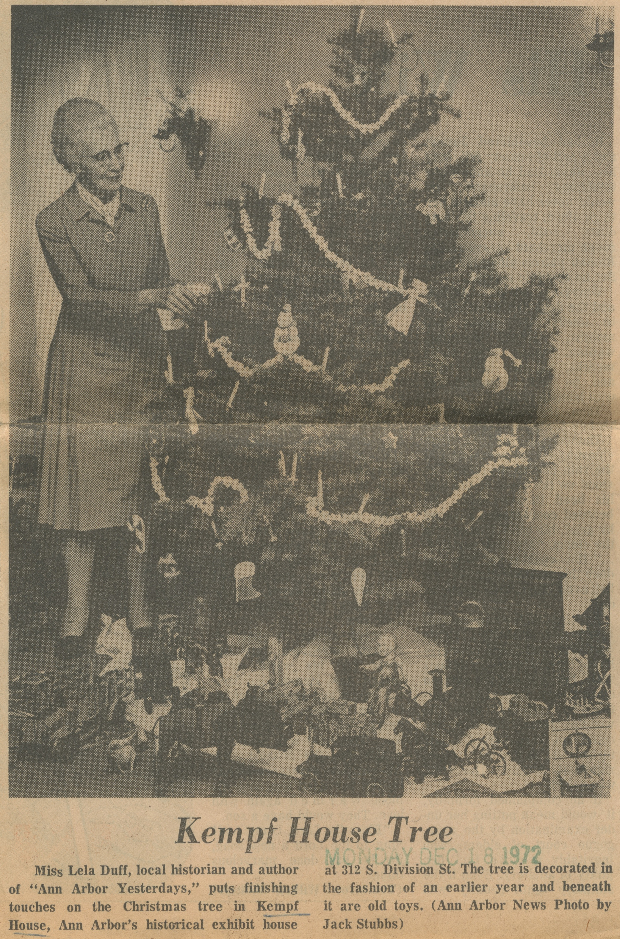 Kempf House Tree image