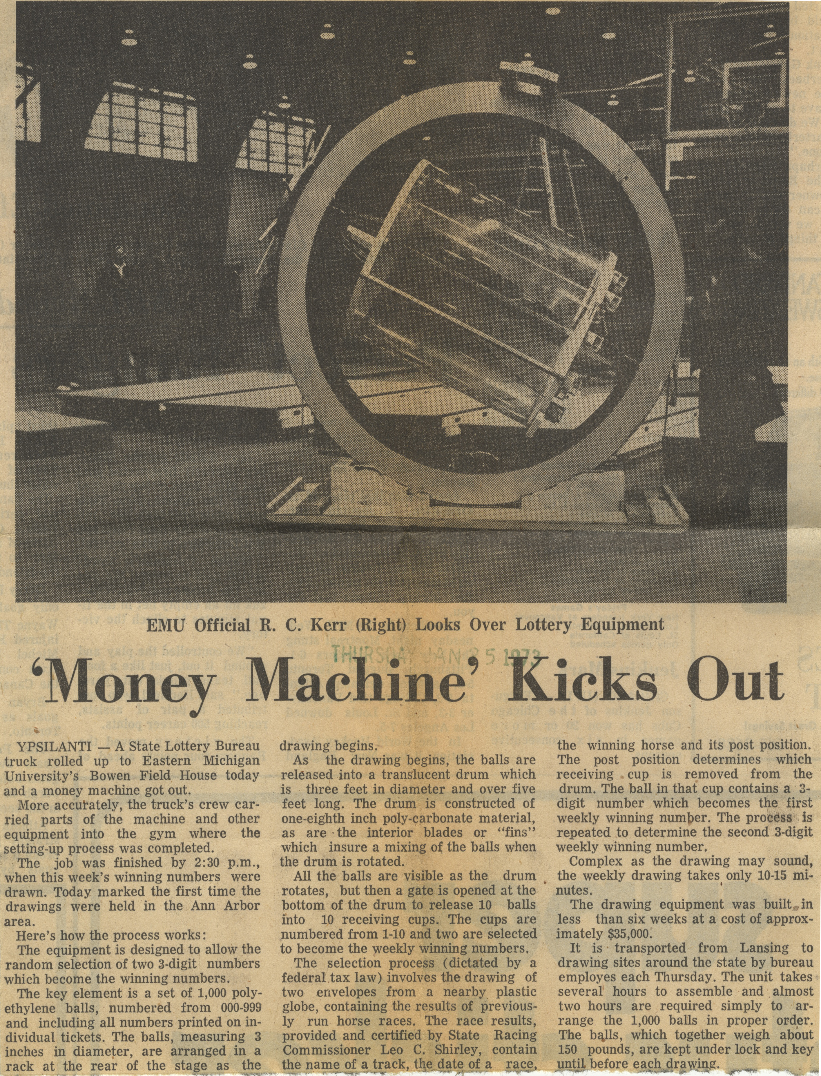 Money Machine Kicks Out image
