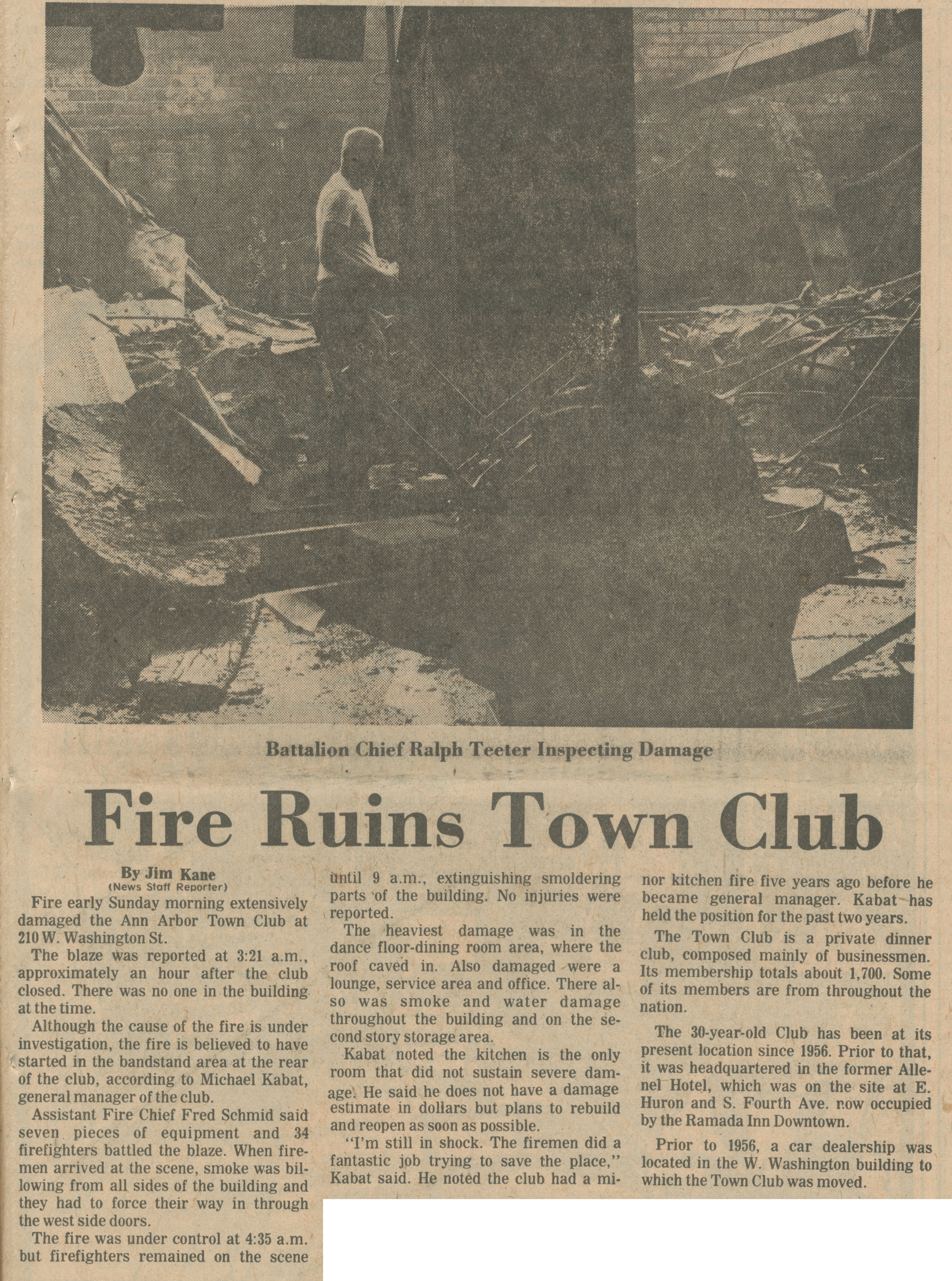 Fire Ruins Town Club image