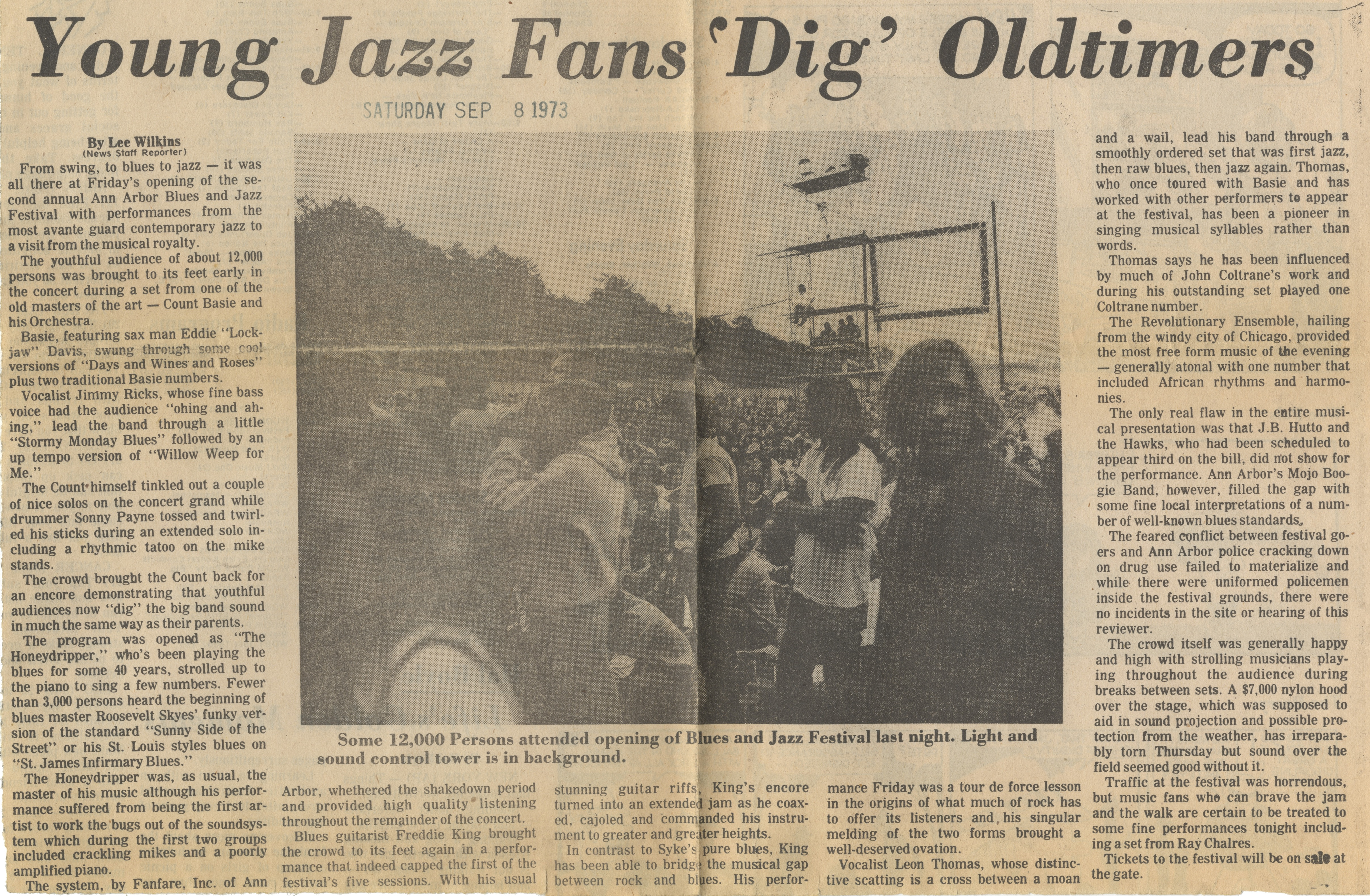 Young Jazz Fans 'Dig' Oldtimers image