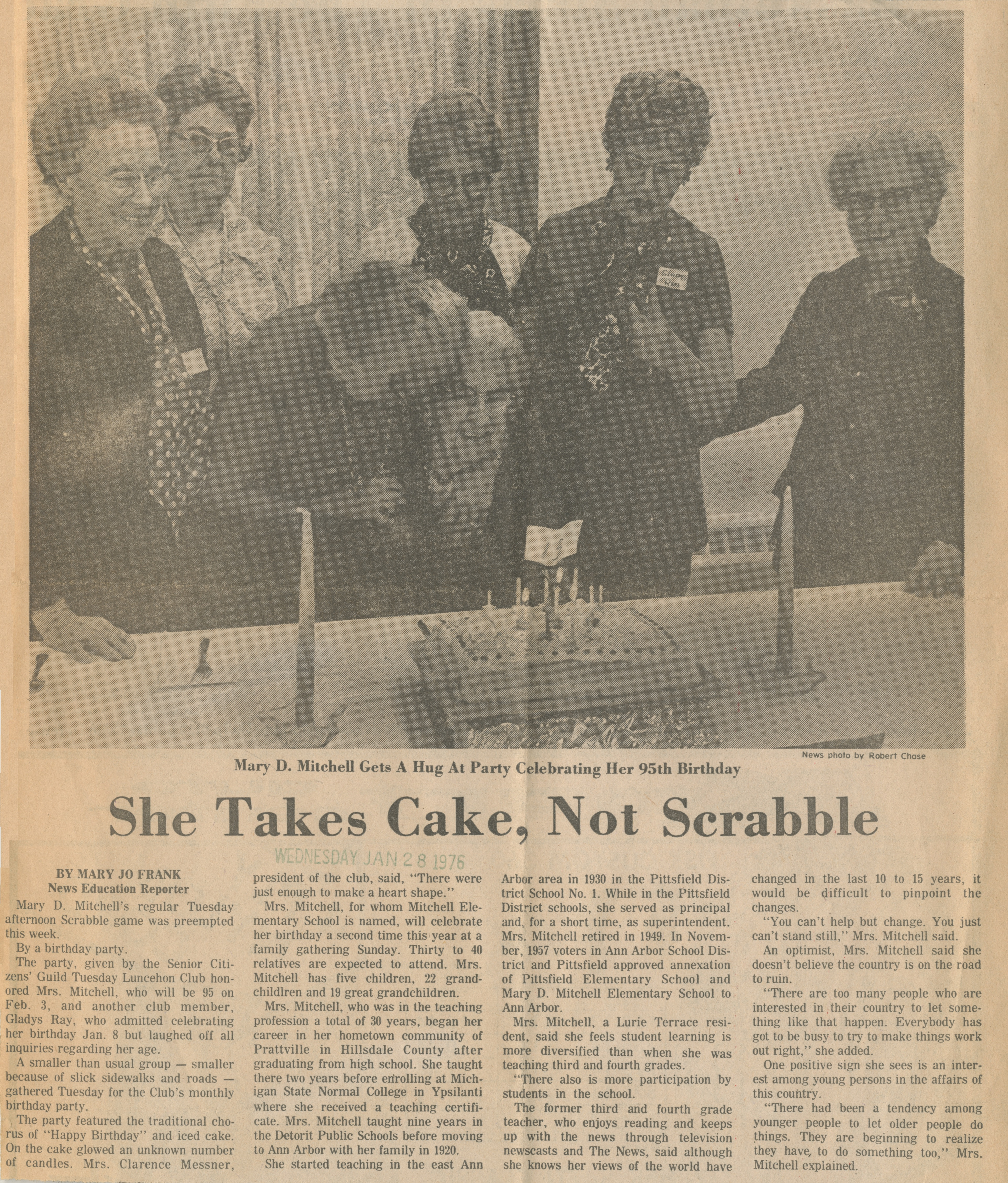 She Takes Cake, Not Scrabble image