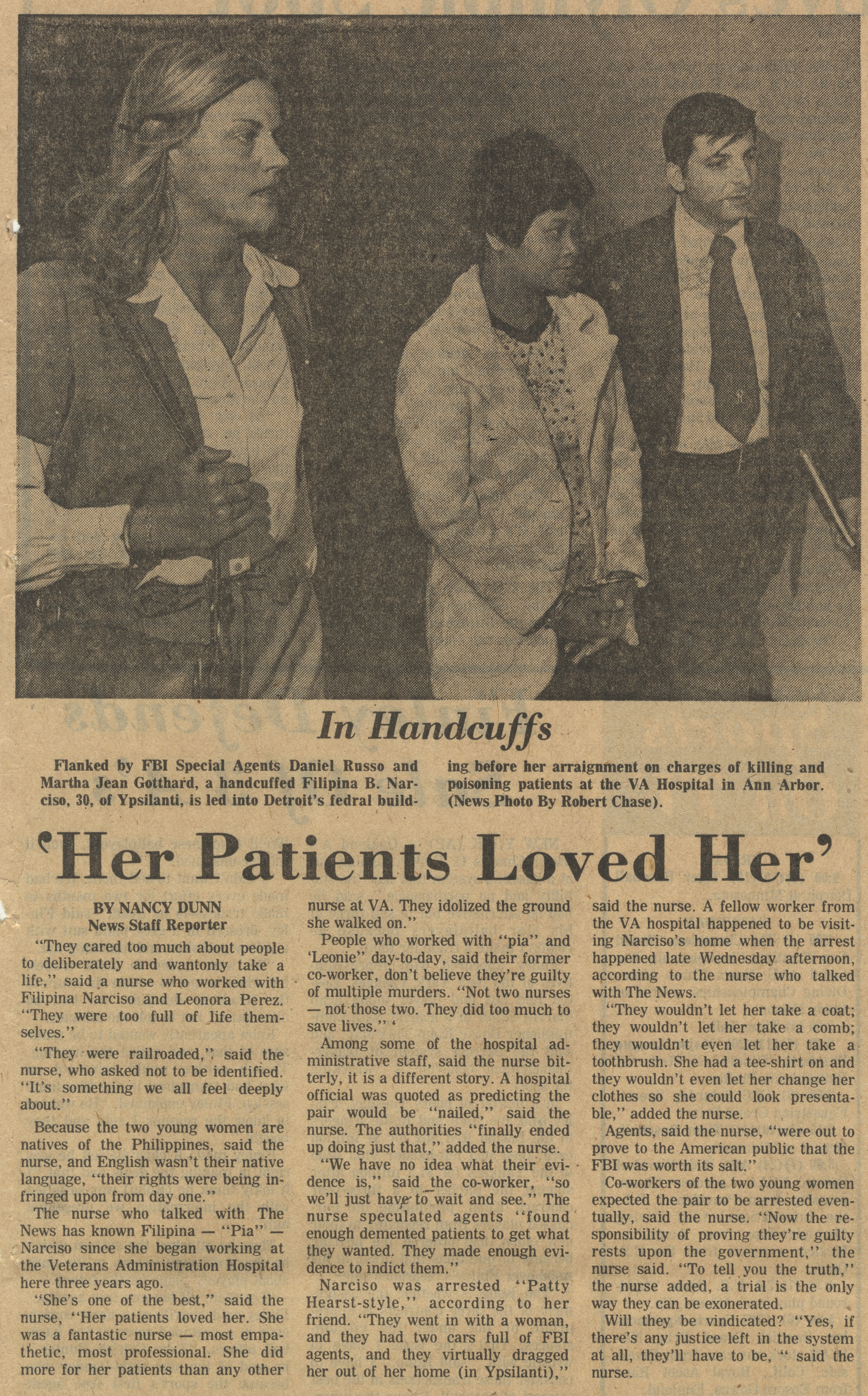 'Her Patients Loved Her' image