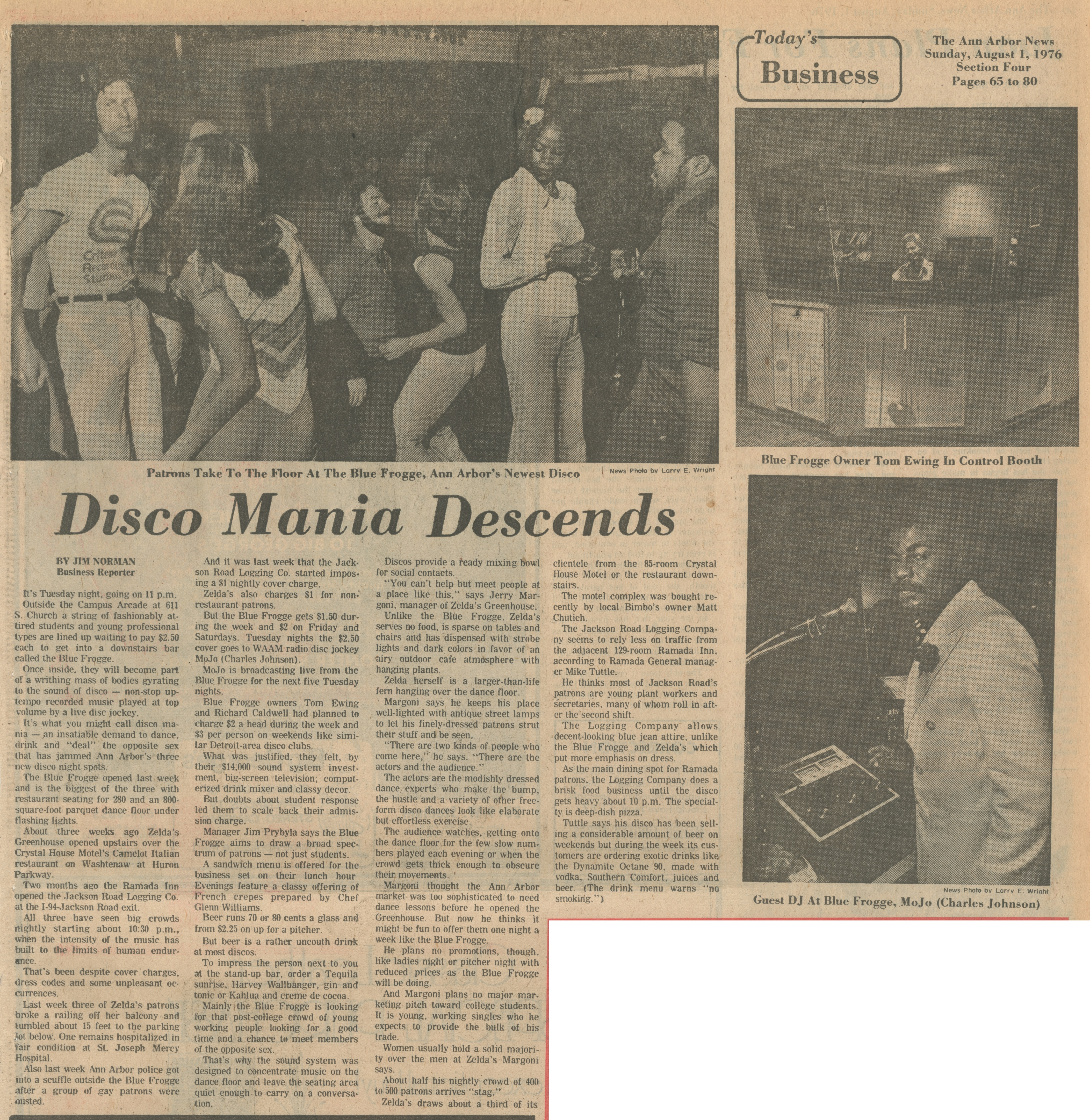 Disco Mania Descends image