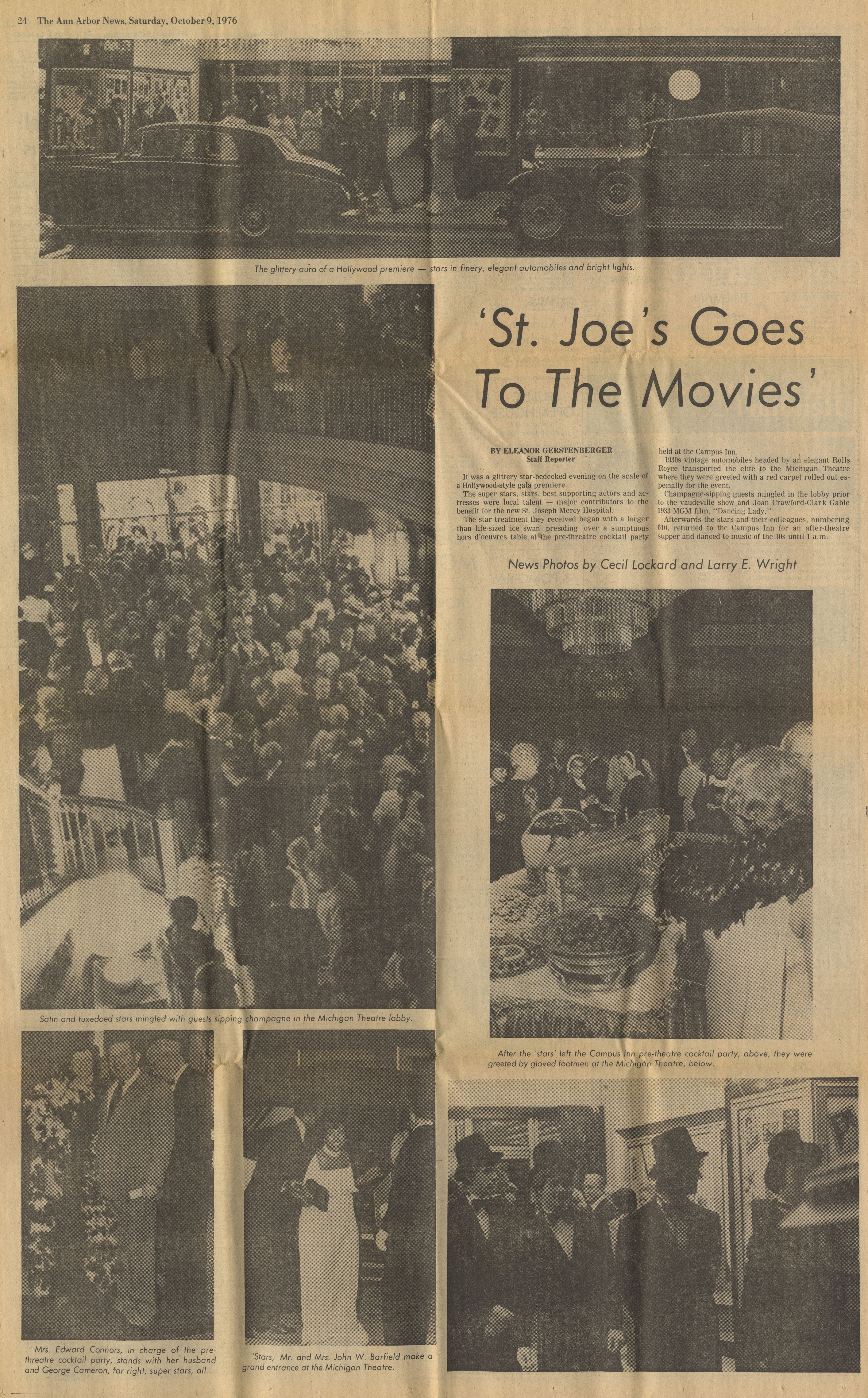 St. Joe's Goes To The Movies image