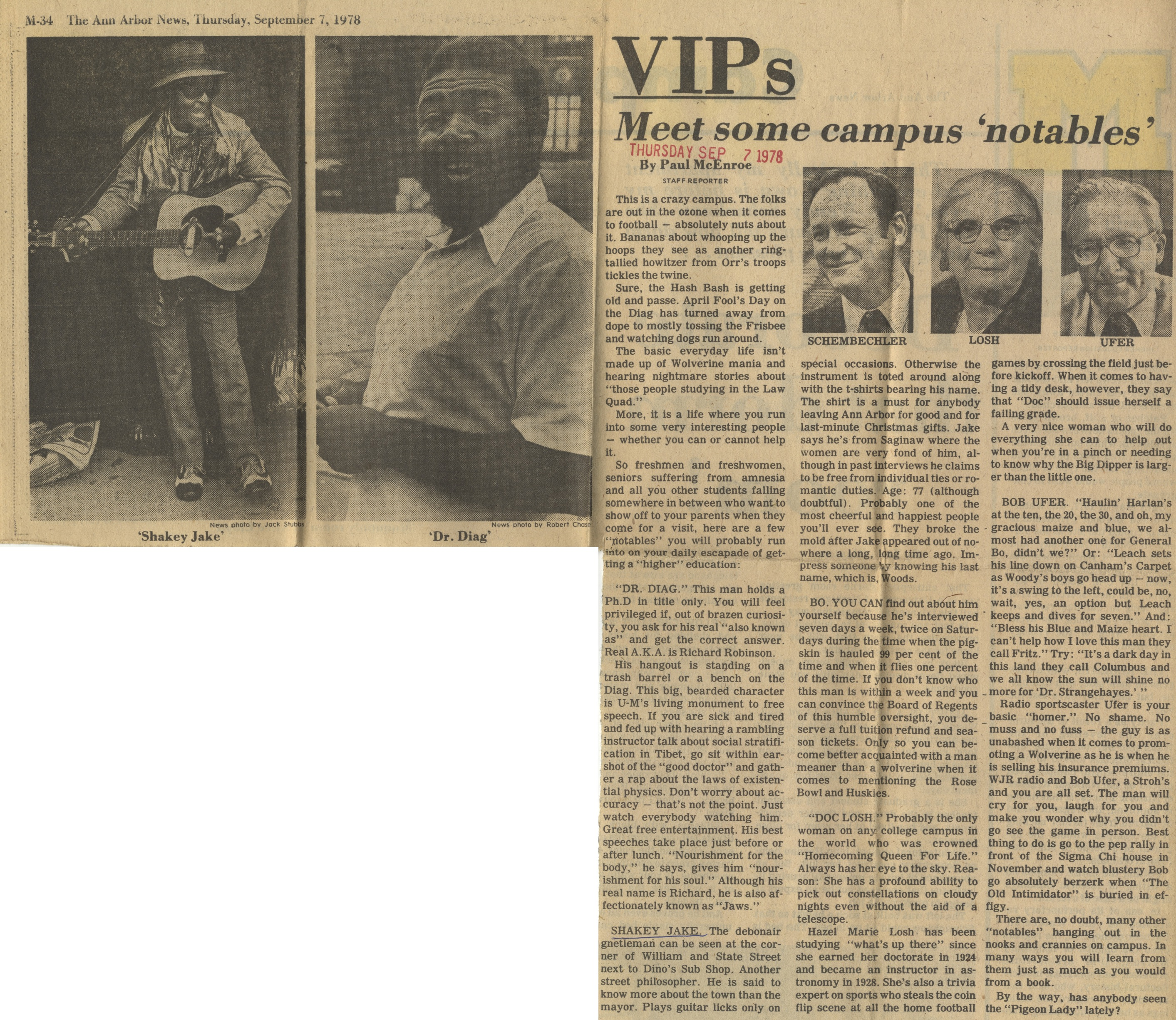 VIPS: Meet Some Campus 'Notables' image