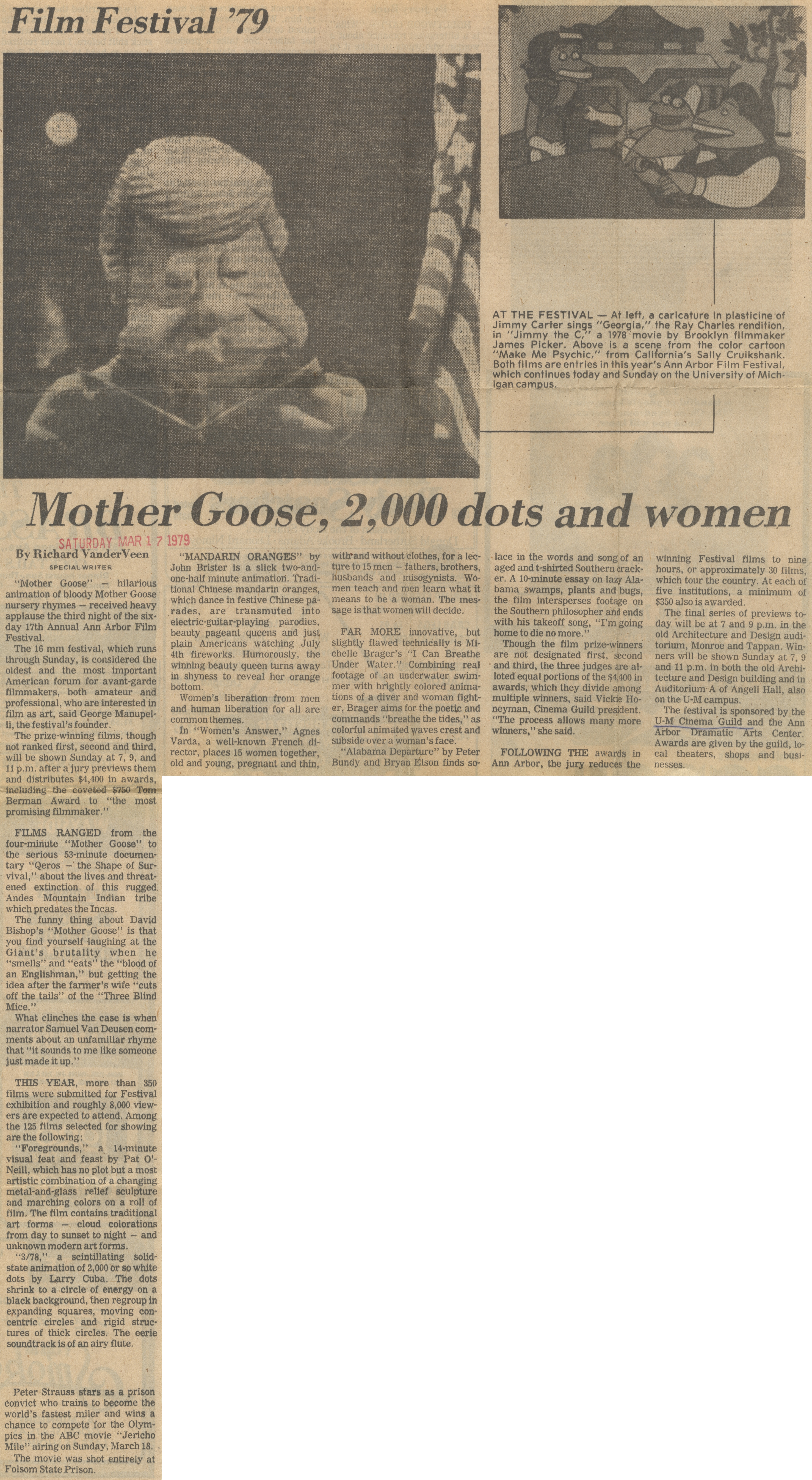 Film Festival '79: Mother Goose, 2,000 dots and women image