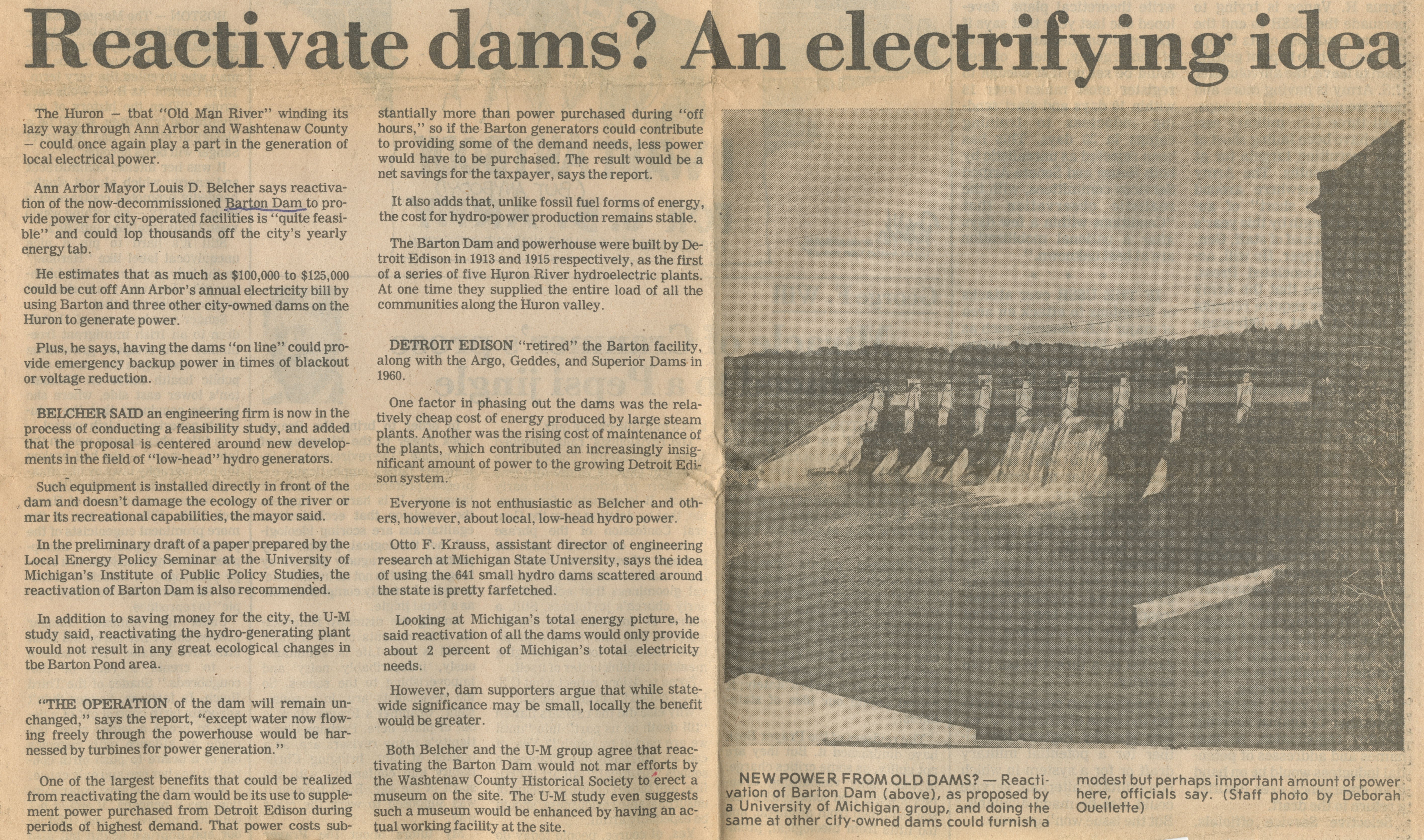 Reactivate Dams? An Electrifying Idea image
