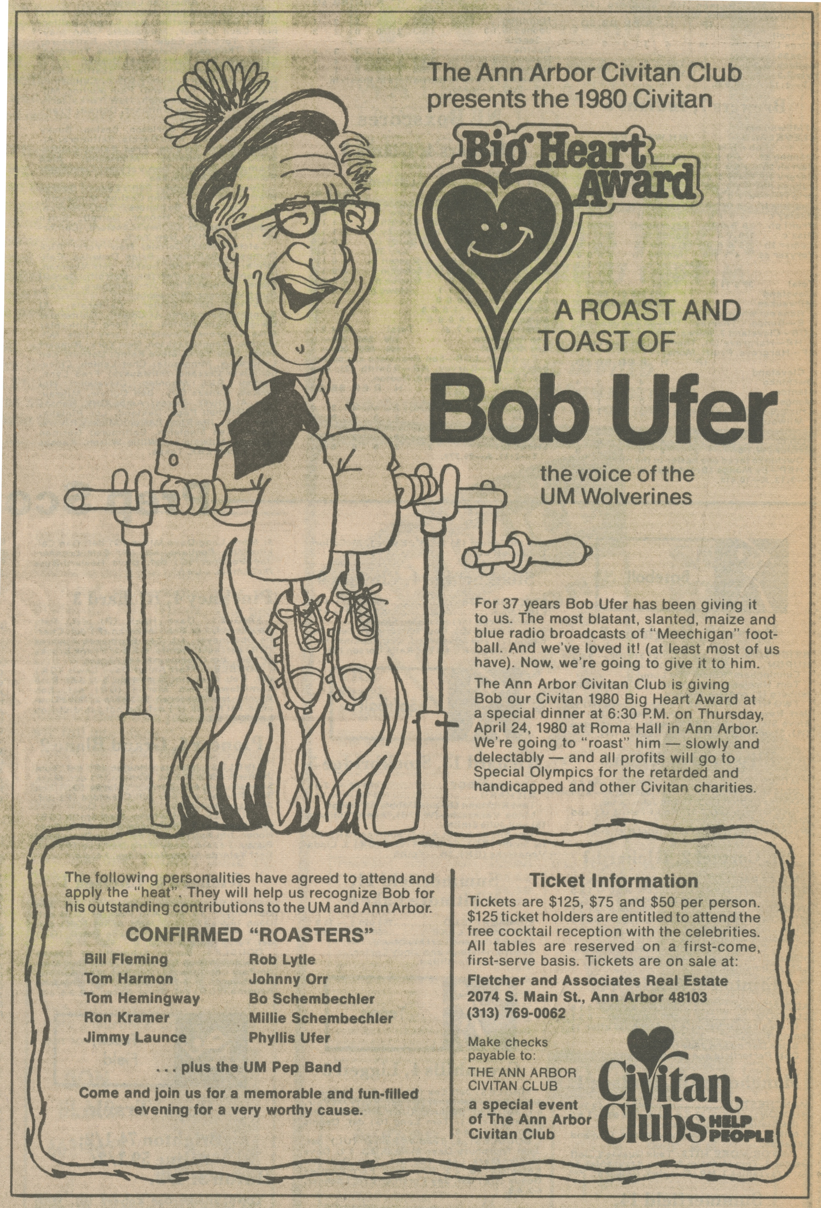 Big Heart Award ~ A Roast And Toast Of Bob Ufer image