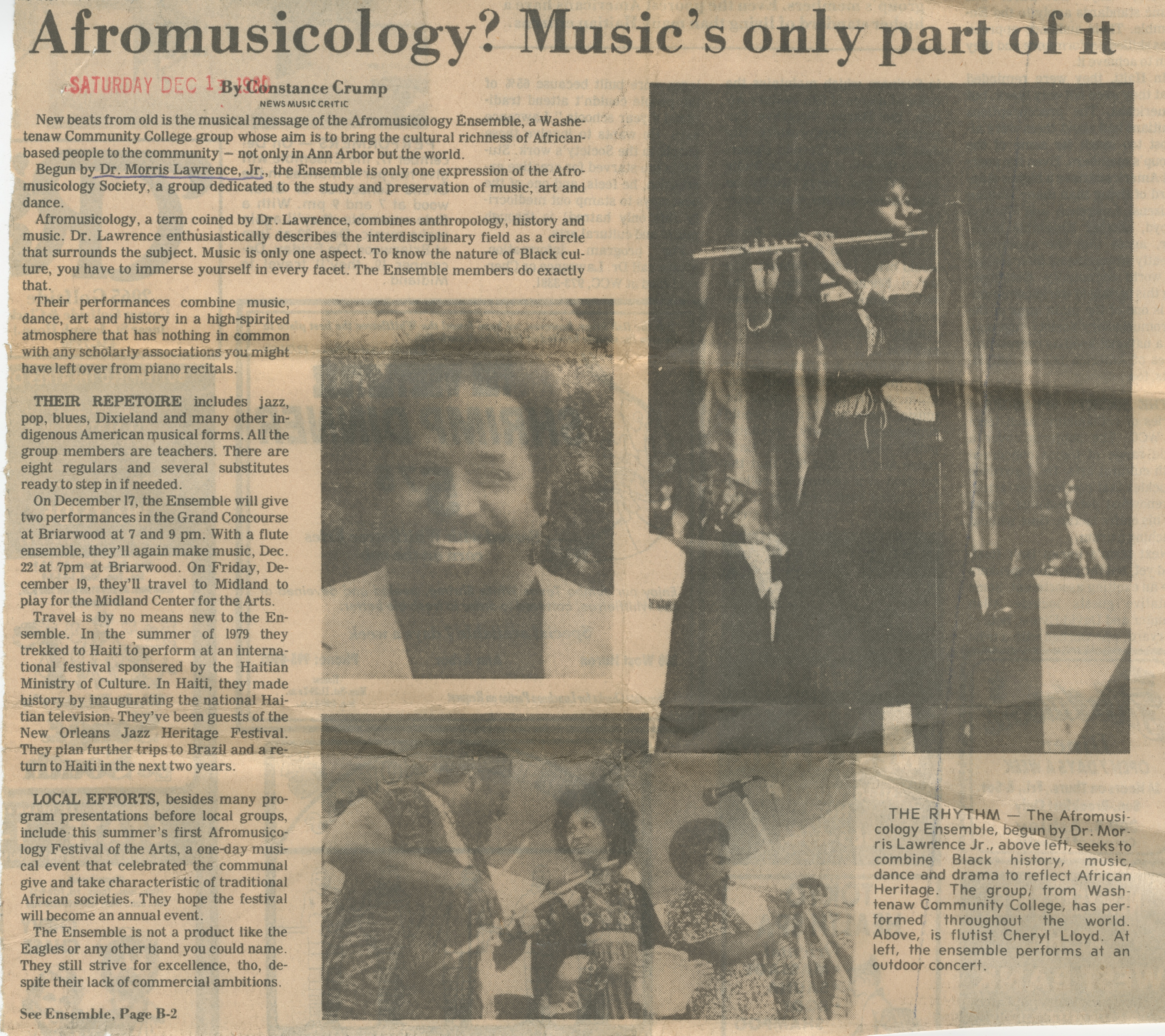 Afromusicology? Music's only part of it image