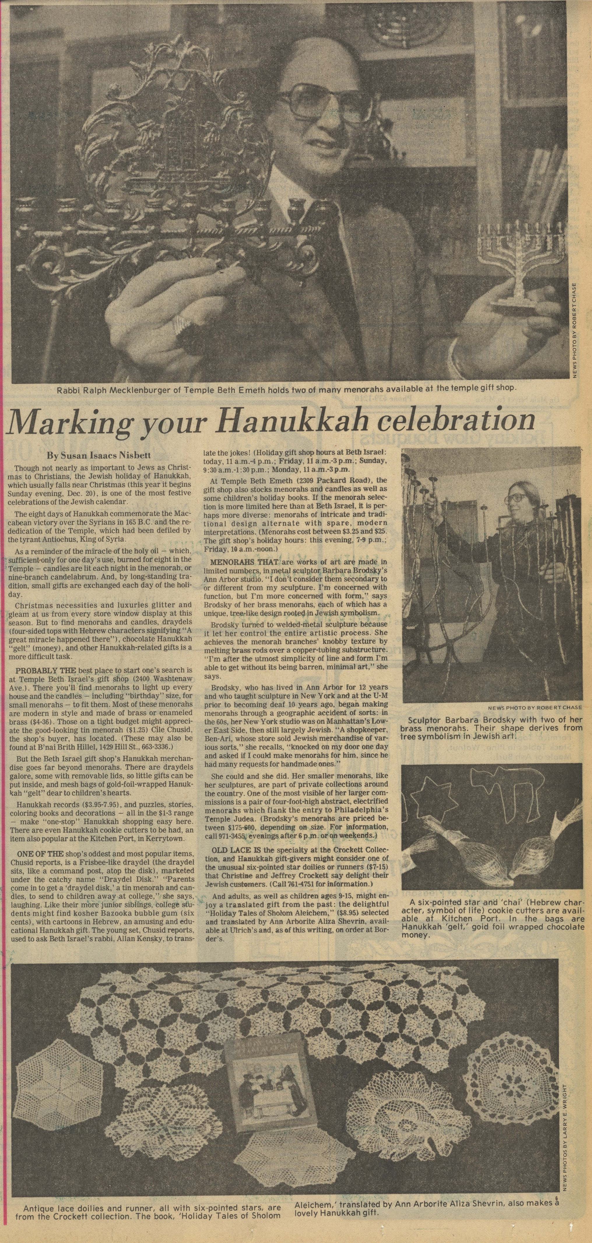 Marking Your Hanukkah Celebration image
