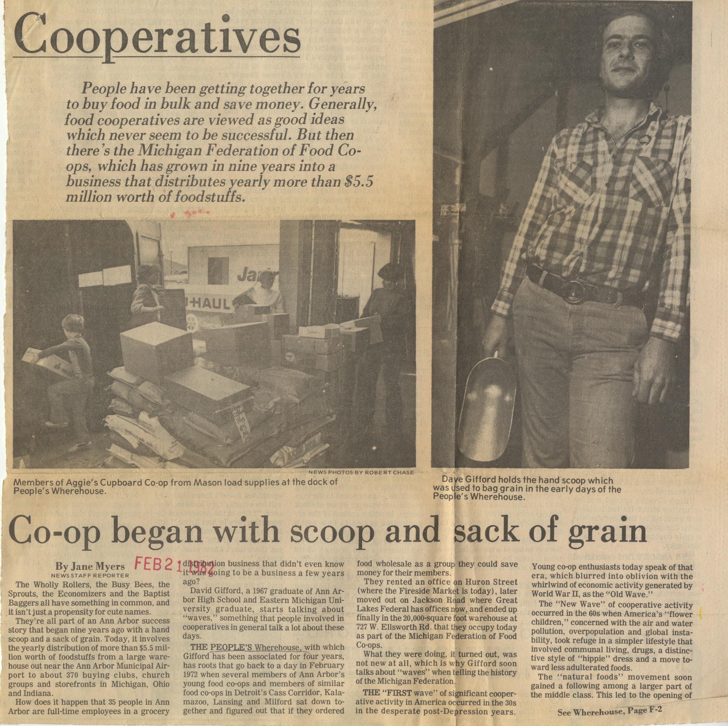 Co-op Began With Scoop And Sack Of Grains image