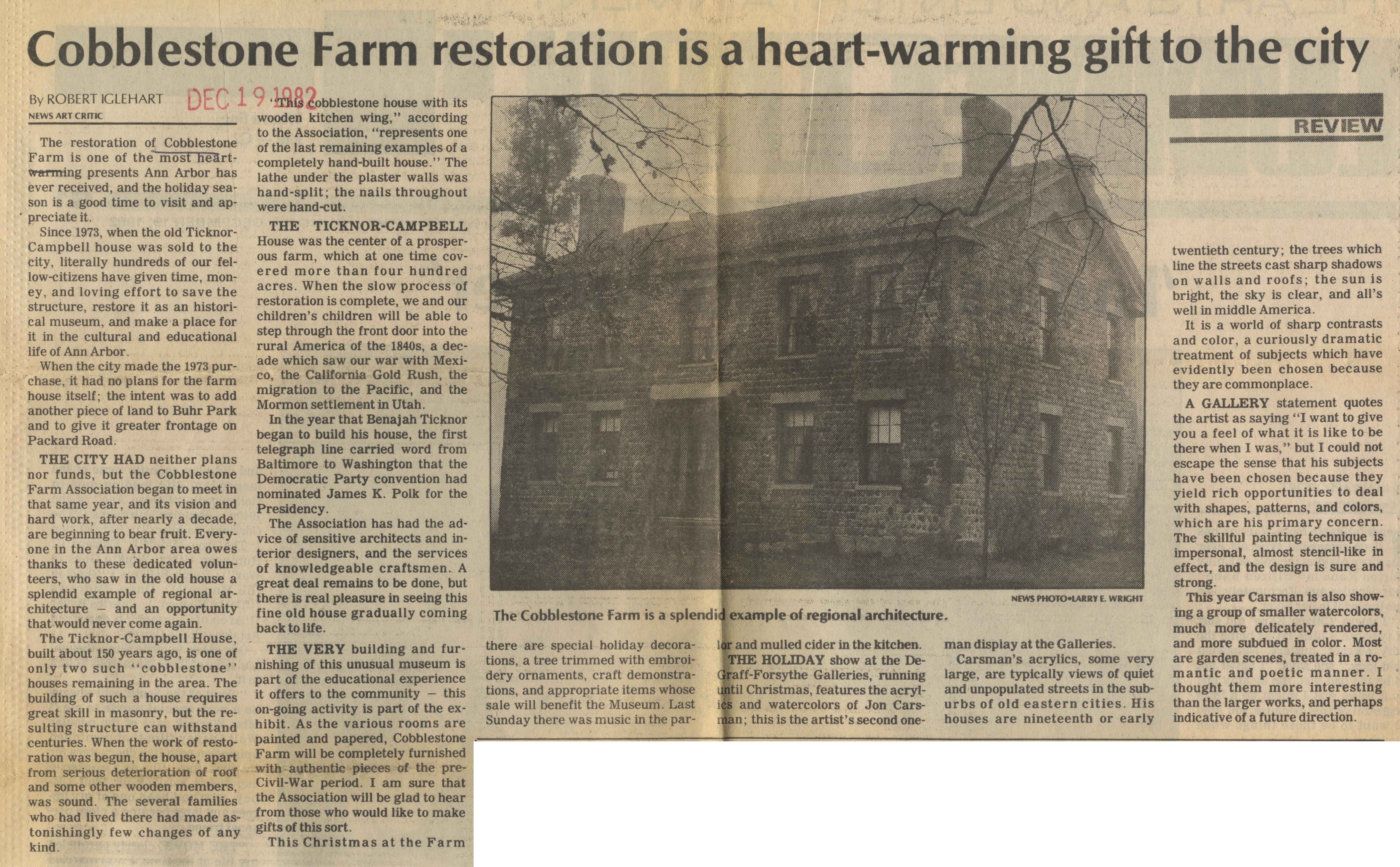 Cobblestone Farm Restoration Is A Heart-Warming Gift To The City image