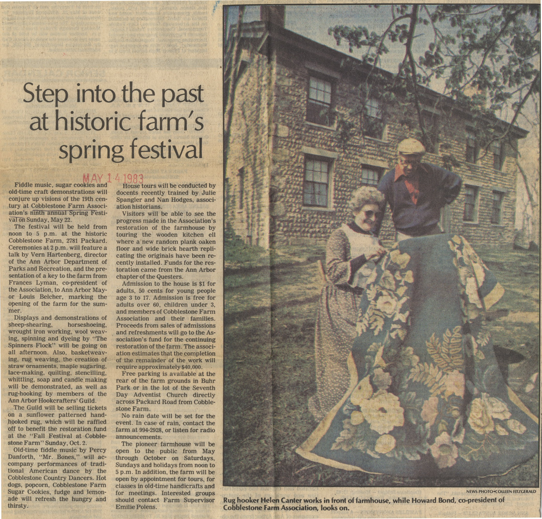 Step Into The Past At Historic Farm's Spring Festival image