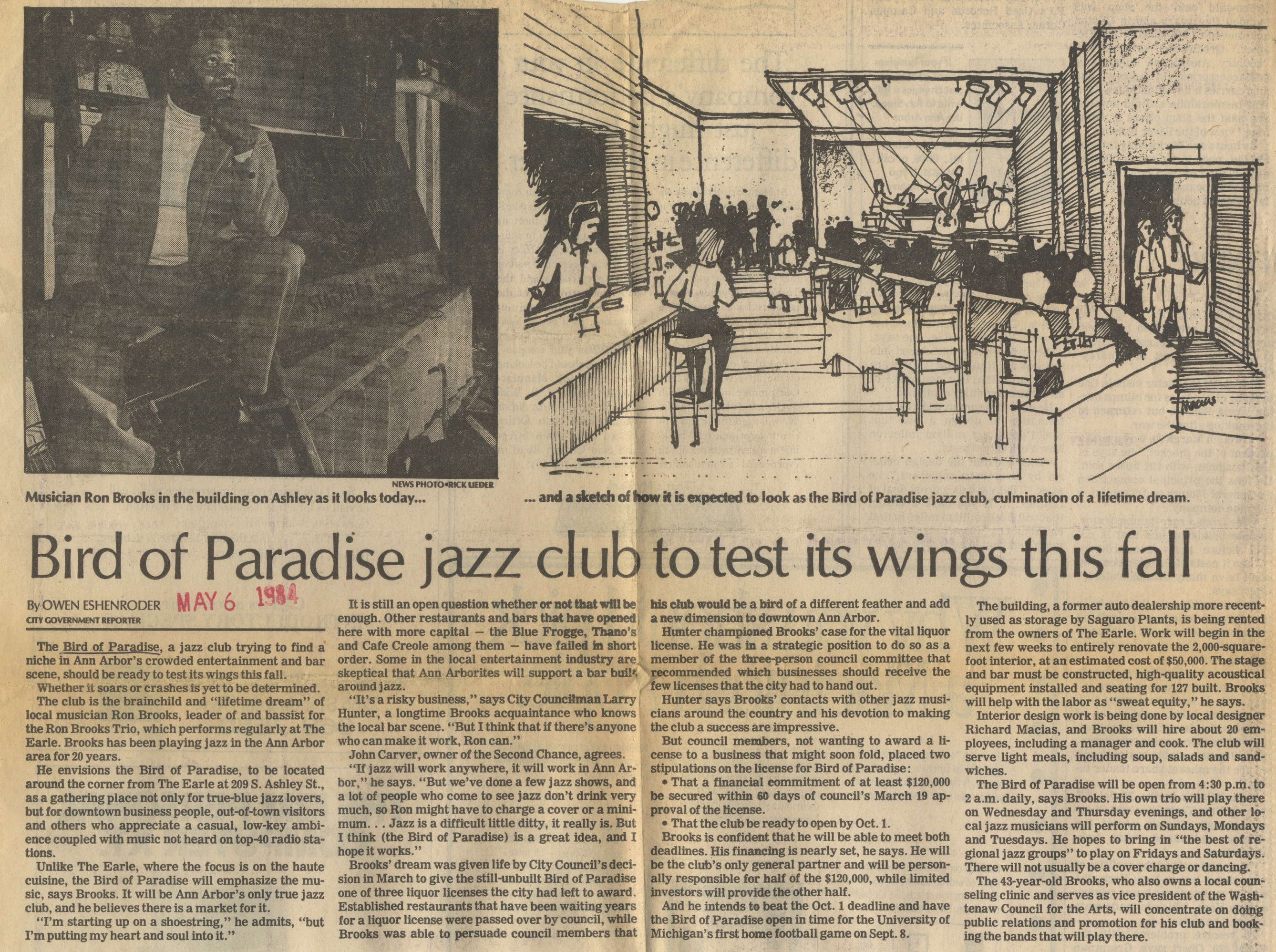 Bird Of Paradise Jazz Club To Test Its Wings This Fall image