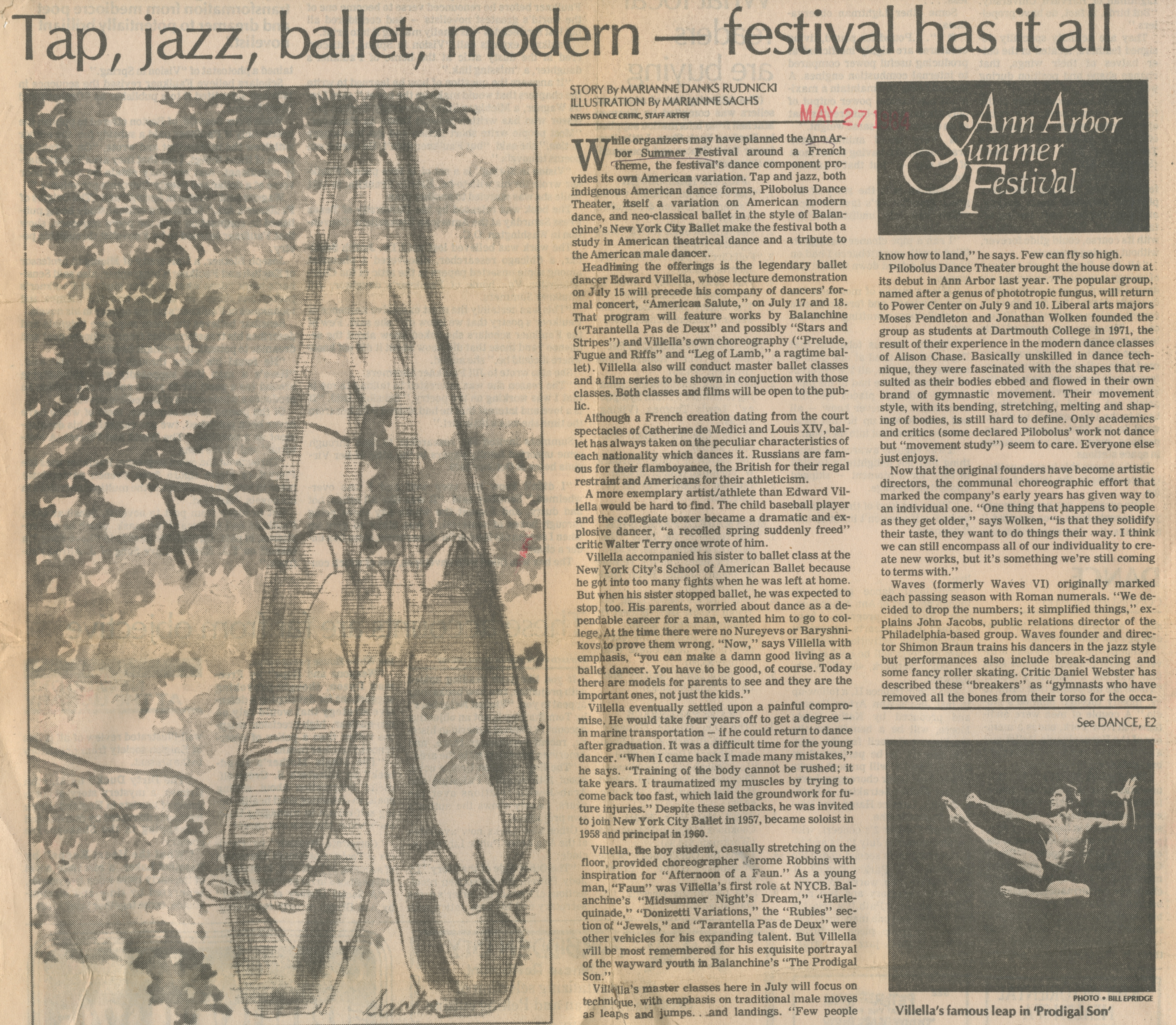 Tap, jazz, ballet, modern - festival has it all image