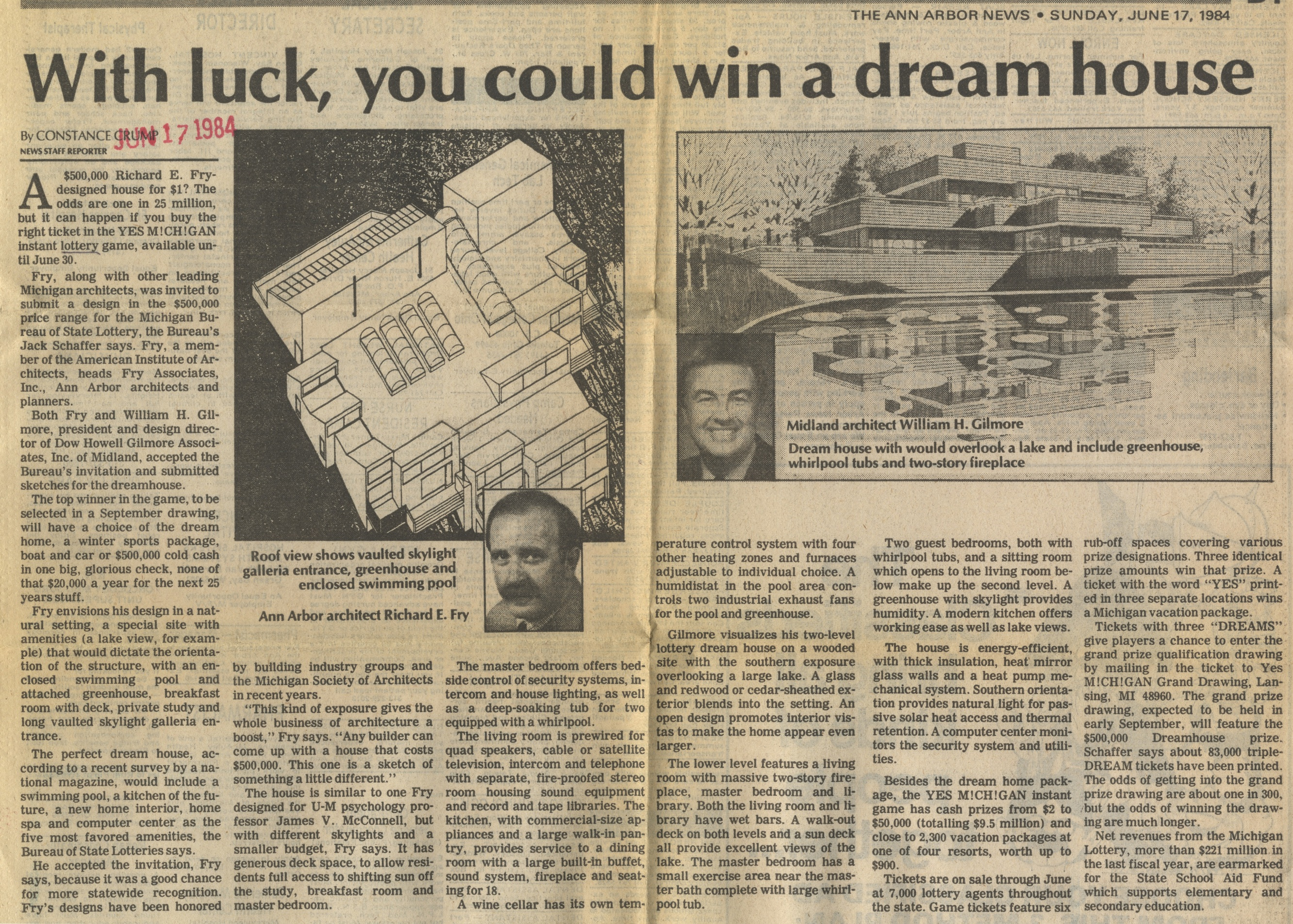 With Luck, You Could Win A Dream House image