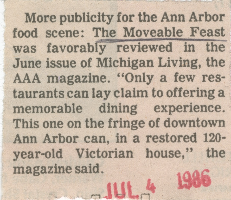 More publicty for the Ann Arbor food scene image
