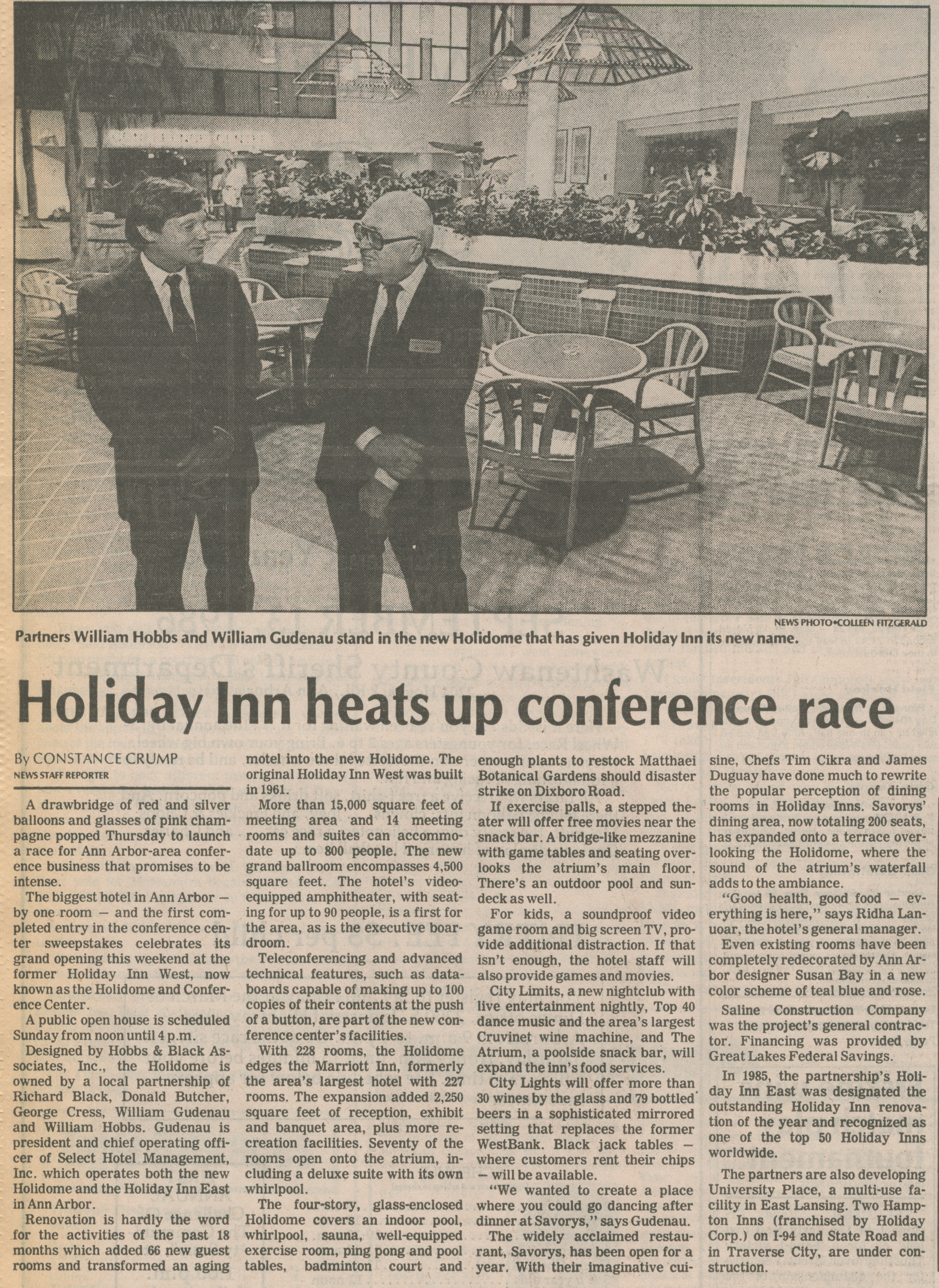 Holiday Inn Heats Up Conference Race image